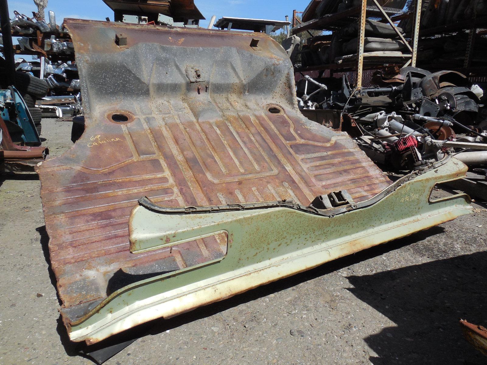 1969 Pontiac Catalina Trunk Floor Gm Sports