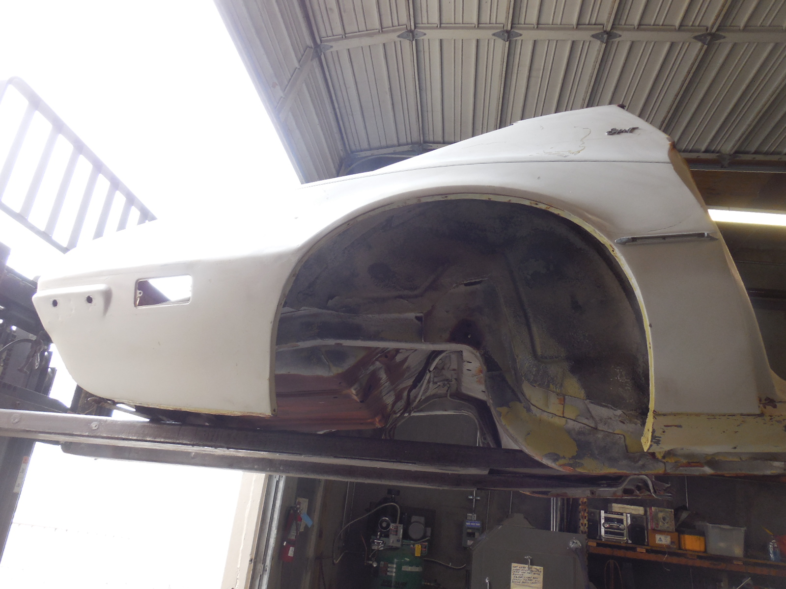 1970, 1971, 1972, 1973, quarter panel, quarter panels , left, right,2nd Gen, Pontiac, Trans Am, Firebird, Rear Clip, Quarter Panel