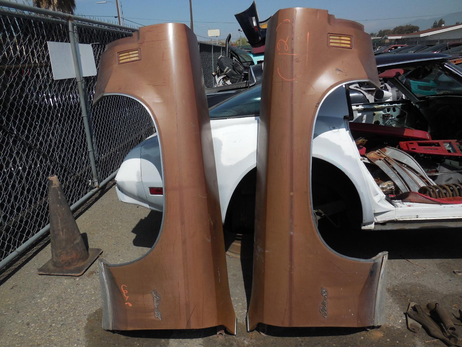 1971 Oldsmobile Delta 88 Fenders
