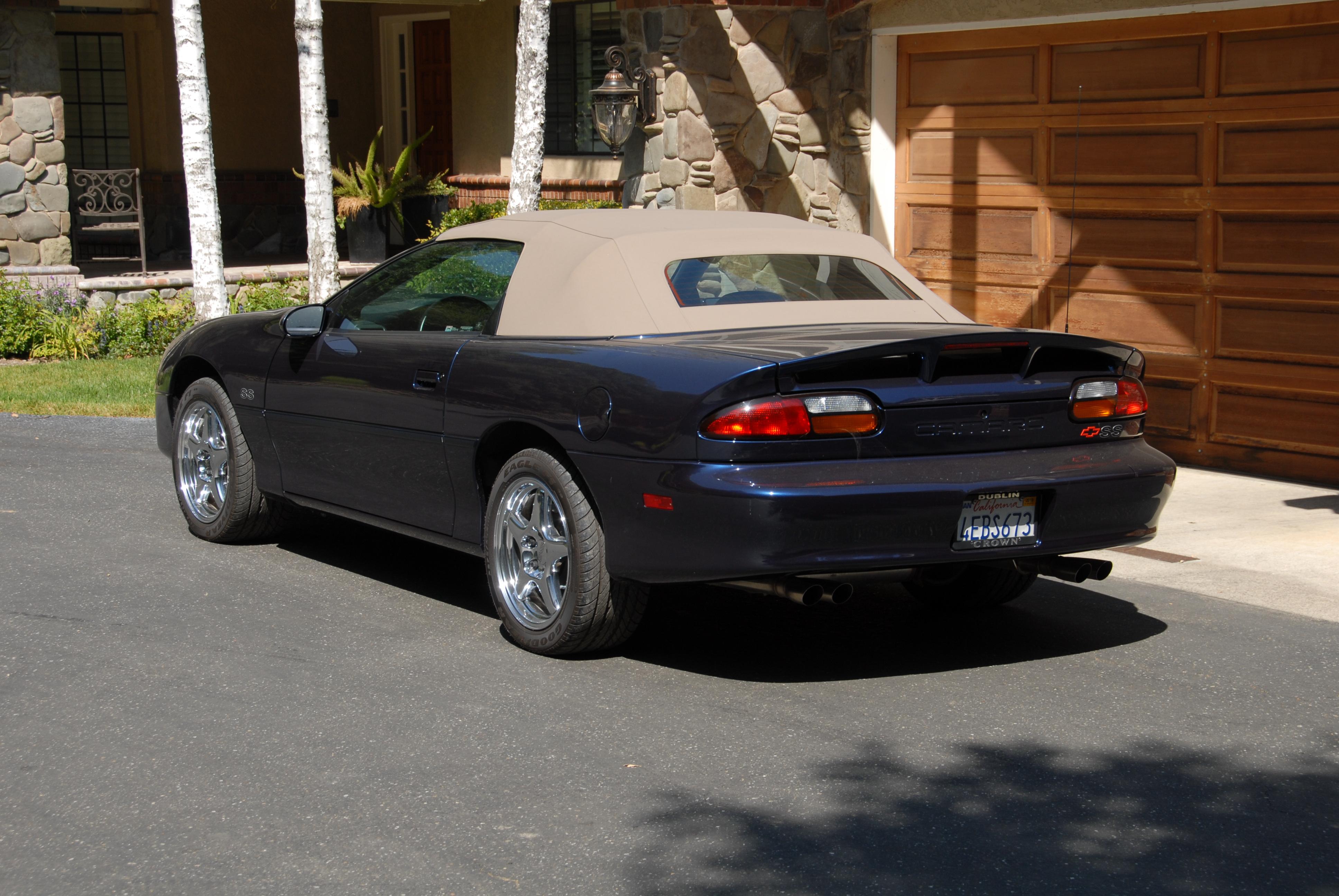 1999 Camaro SS Convertible
