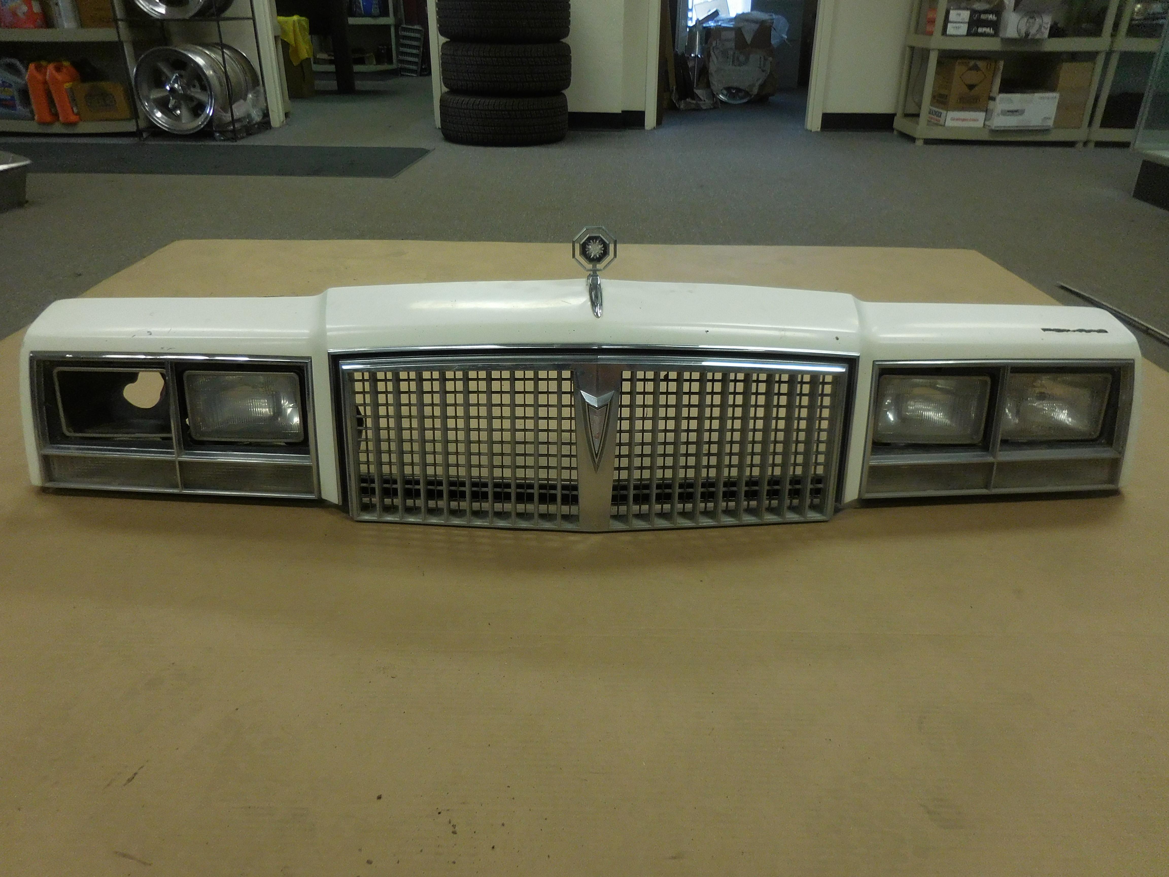 1982,1983,1984,1985,1986, Pontiac, Bonneville, Header,Panel,