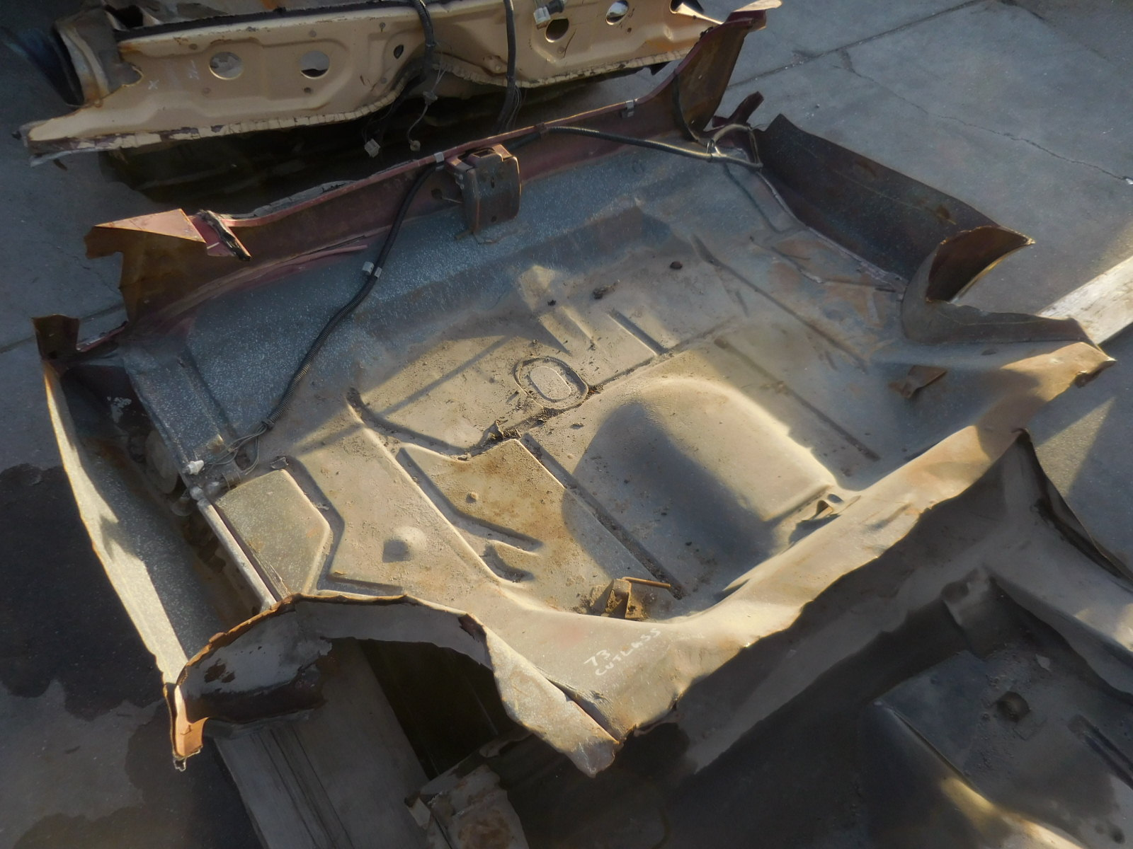 1973, Oldsmobile, Cutlass, Trunk,Pan,