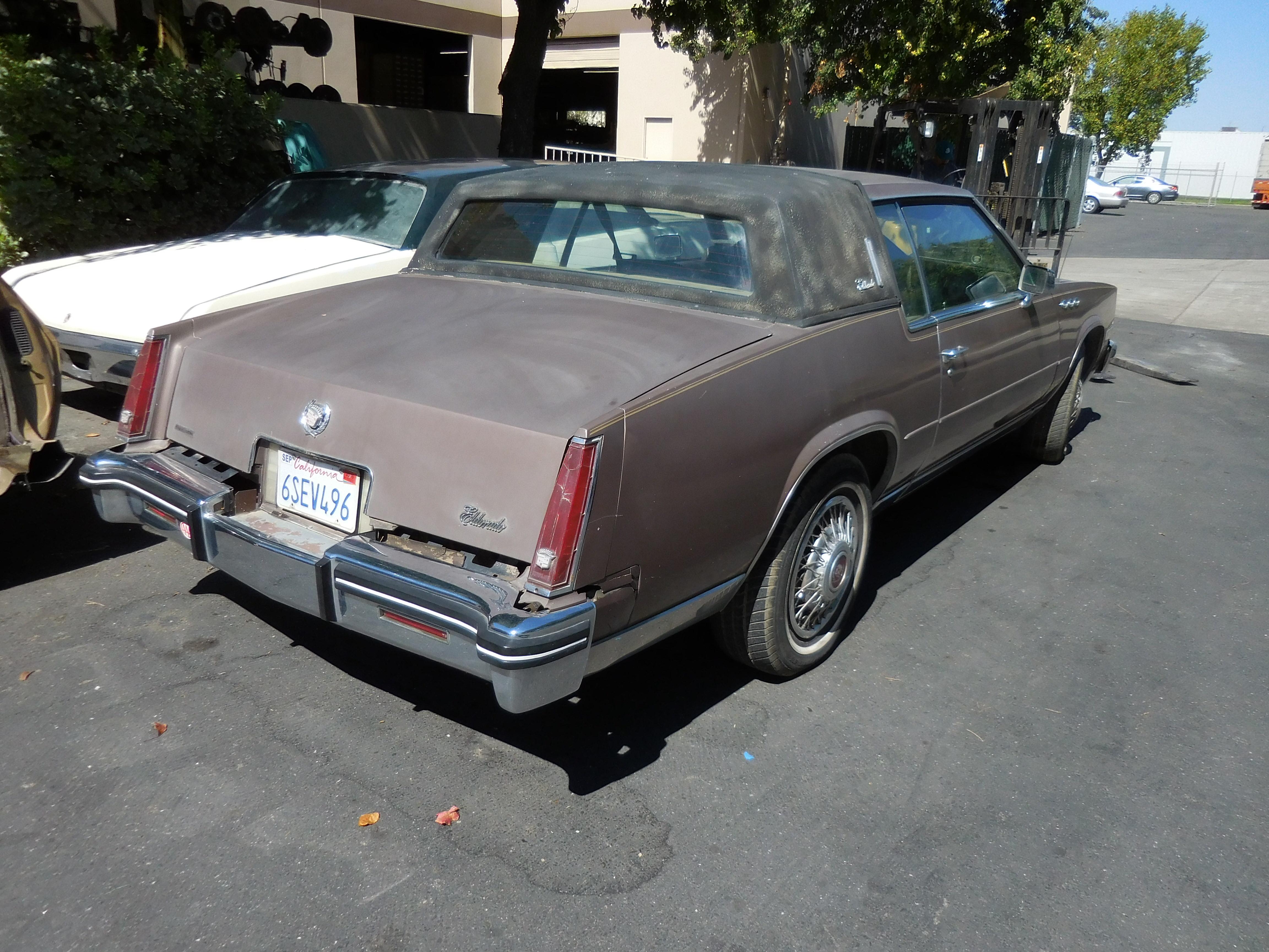 1979,1980,1981,1982,1983,1984,1984, Cadillac, Eldorado,hood, door,fender,bumper,deck lid, seats,