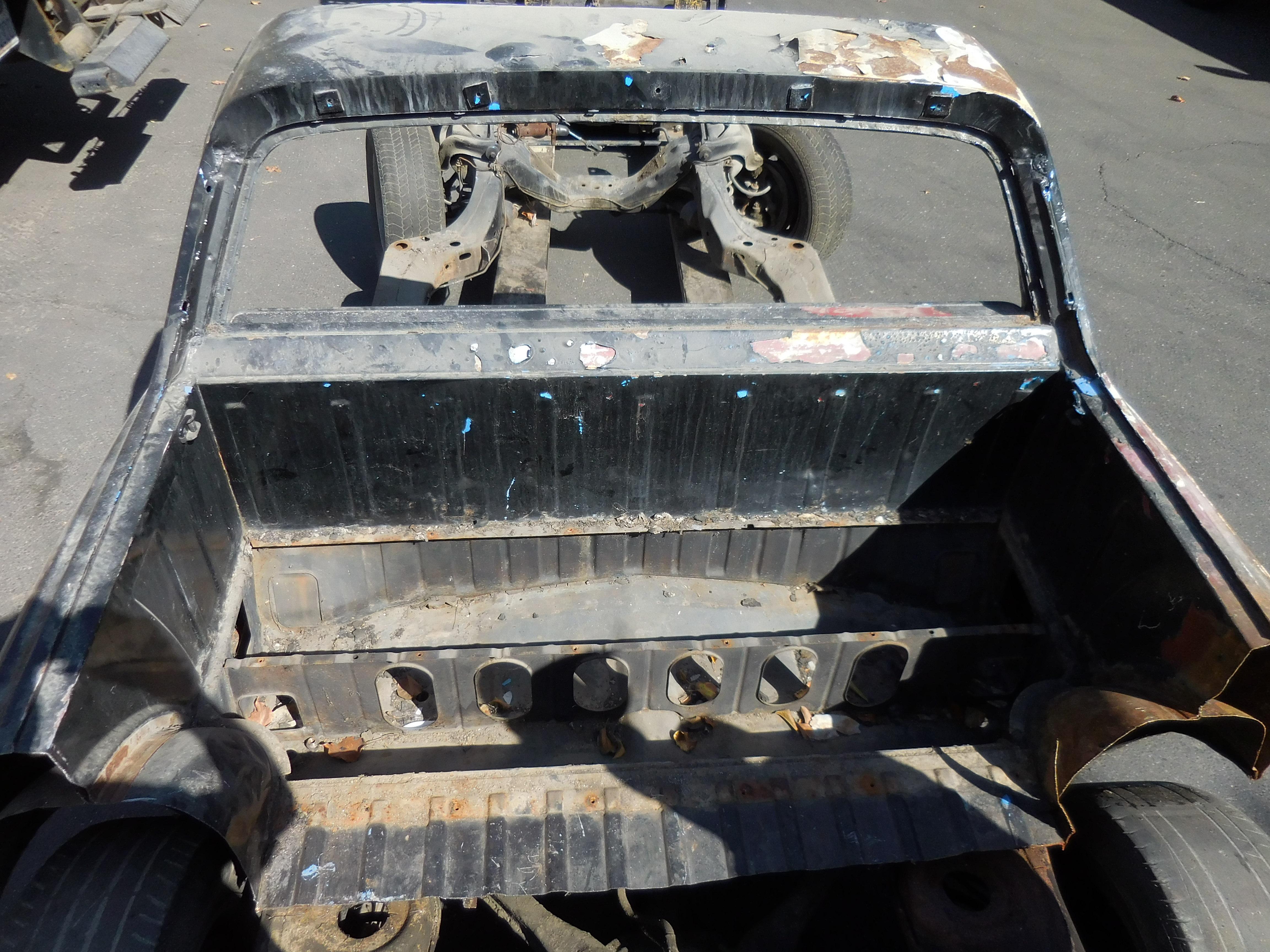 1964-1967 Chevrolet El Camino Rear Deck Shelf Section