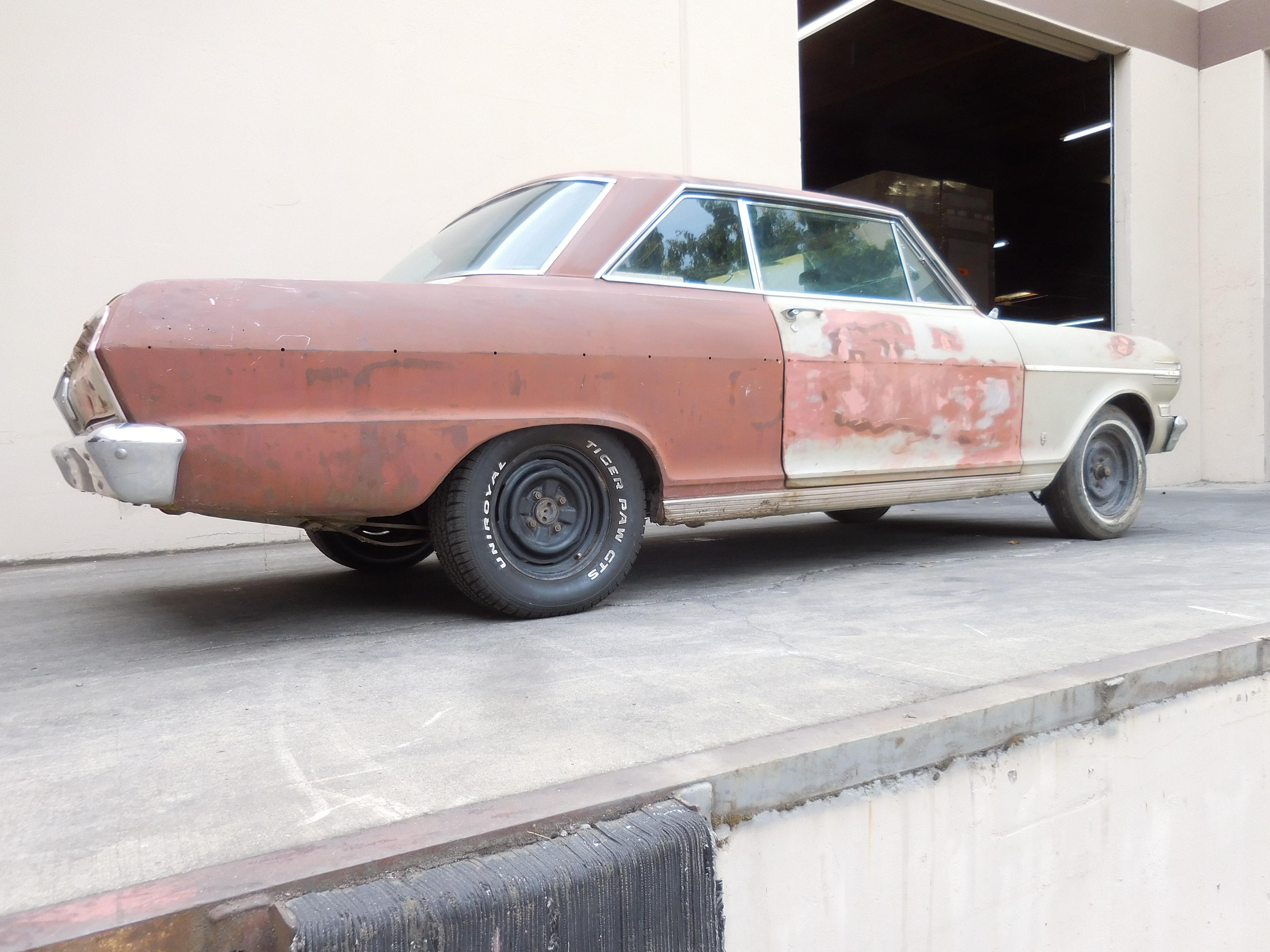 1962 chevrolet nova l6 at rust free project