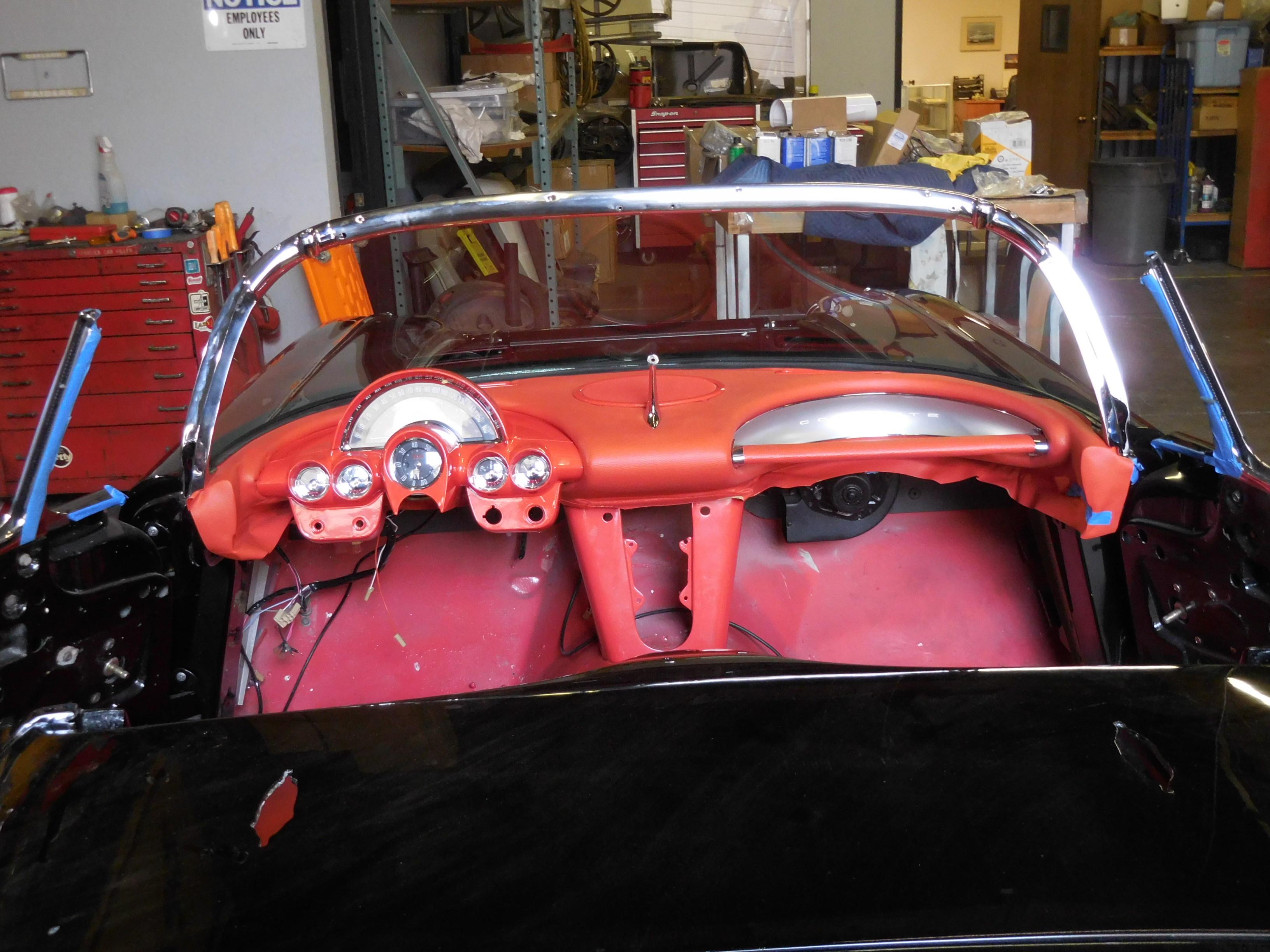 1958, Chevrolet, Corvette, Restoration,