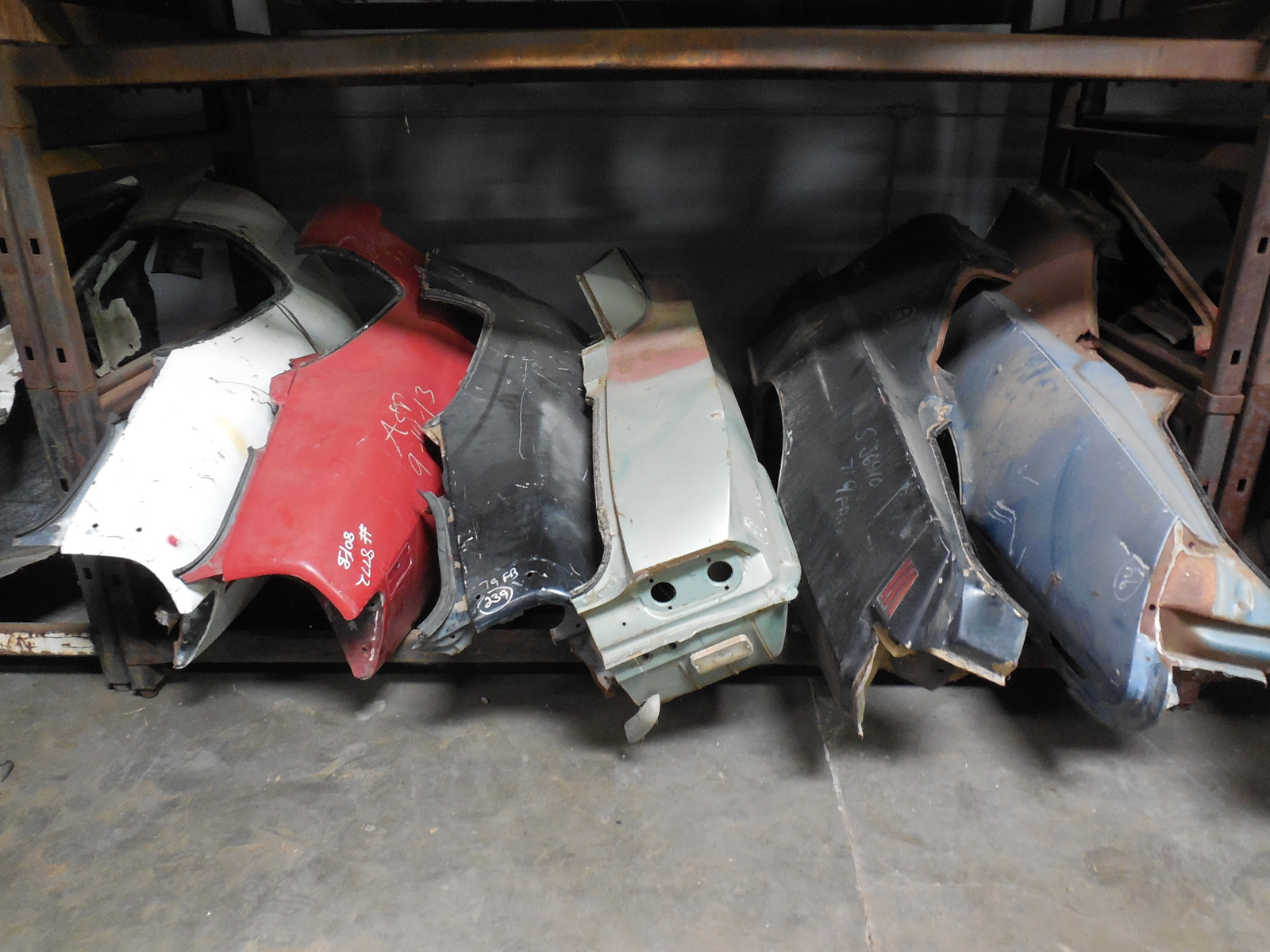Huge Assortment of GM Quarter Panels | GM Sports