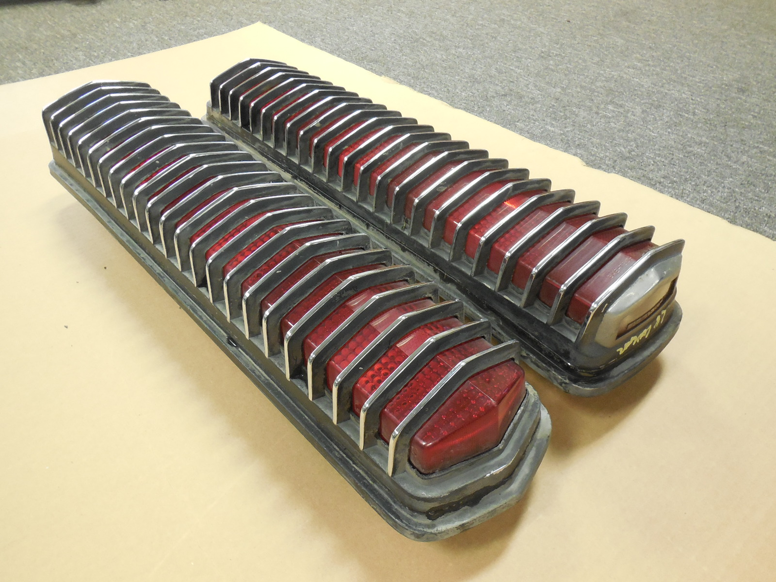 1967 1968 Mercury Cougar Tail Lights Gm Sports