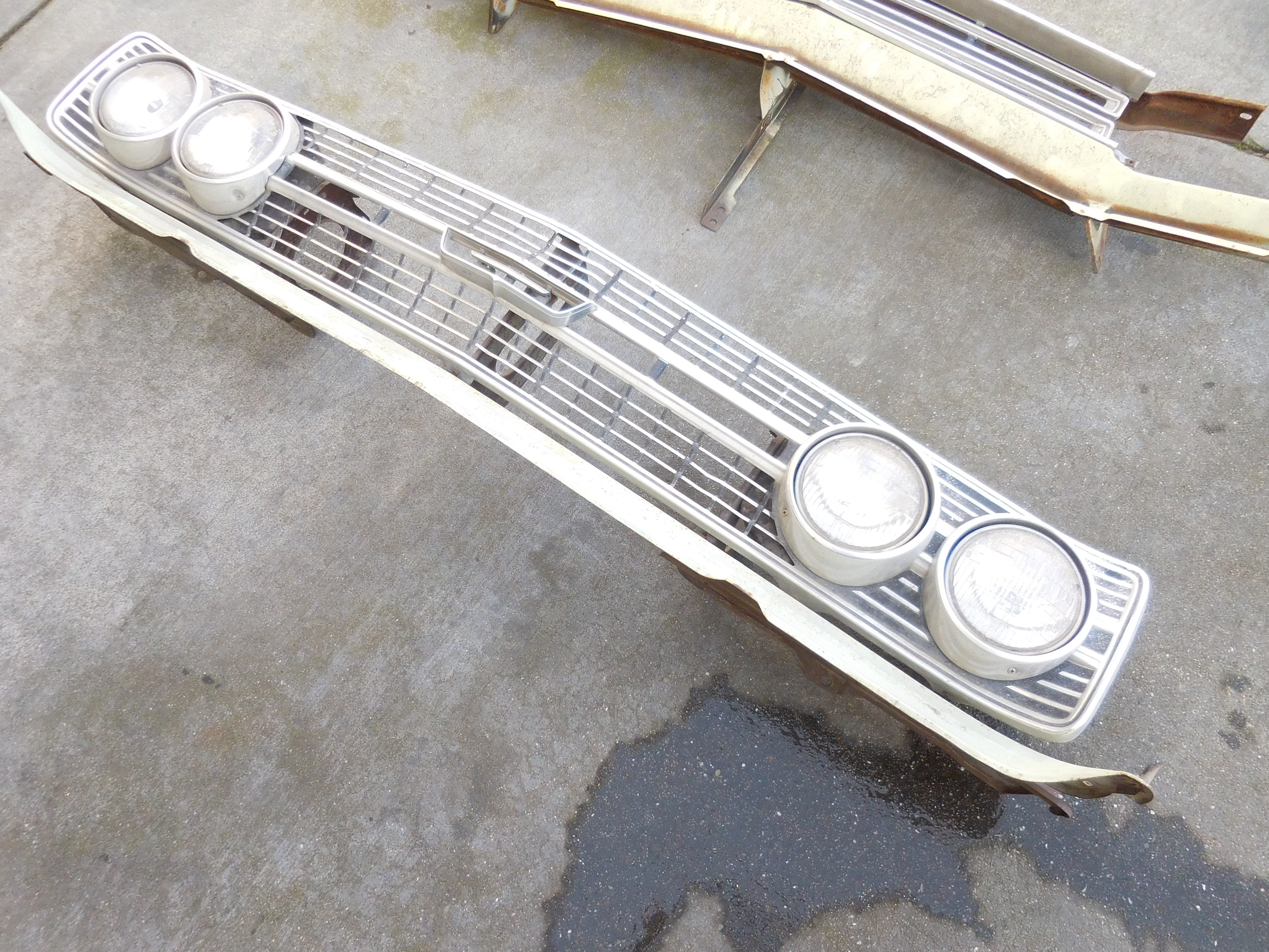 1968 Ford Torino Grill and Lower Valance