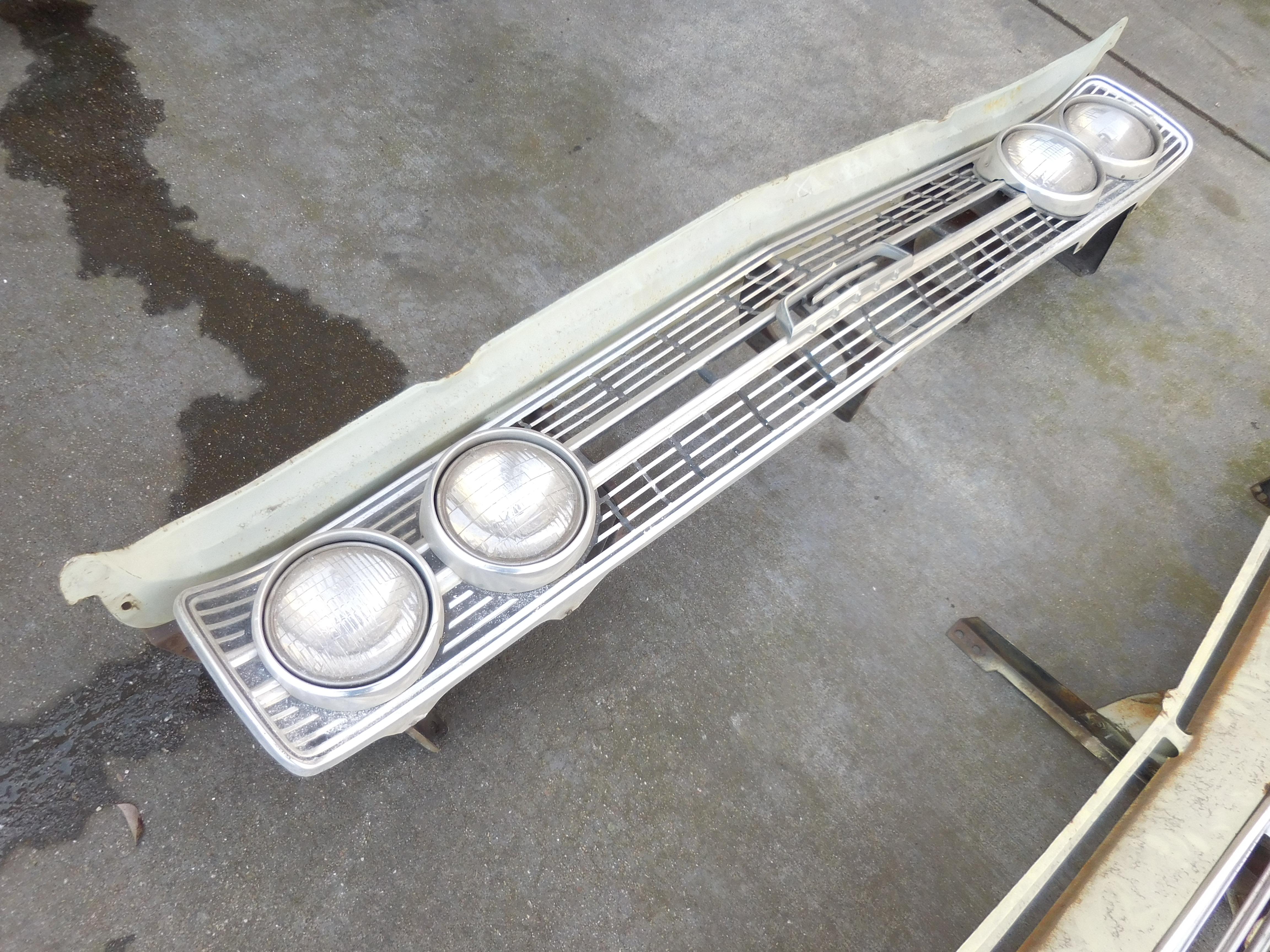 1977 -1979 Buick Electra Rear Bumper Fillers