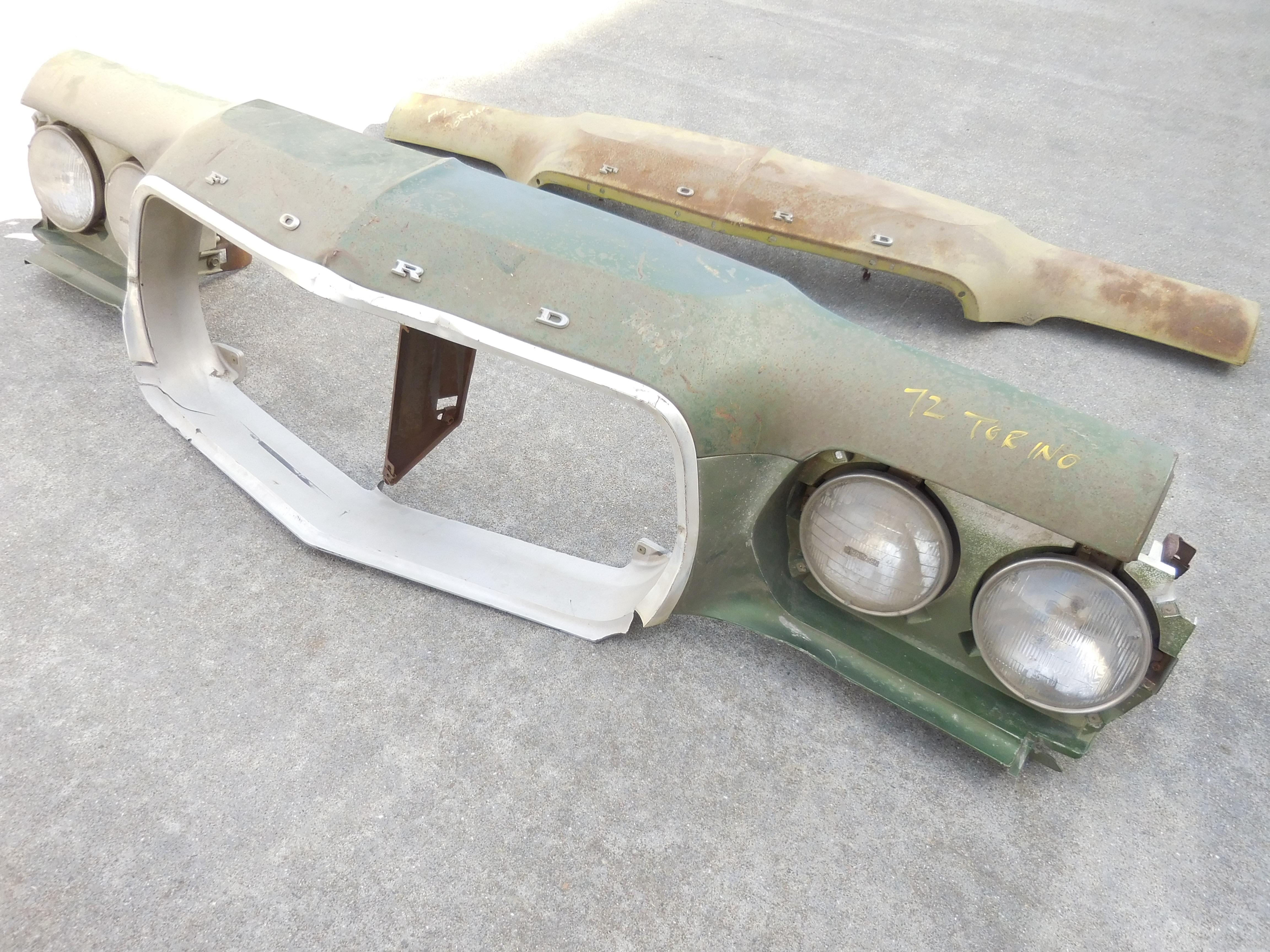 1972 ford Torino Header Panel