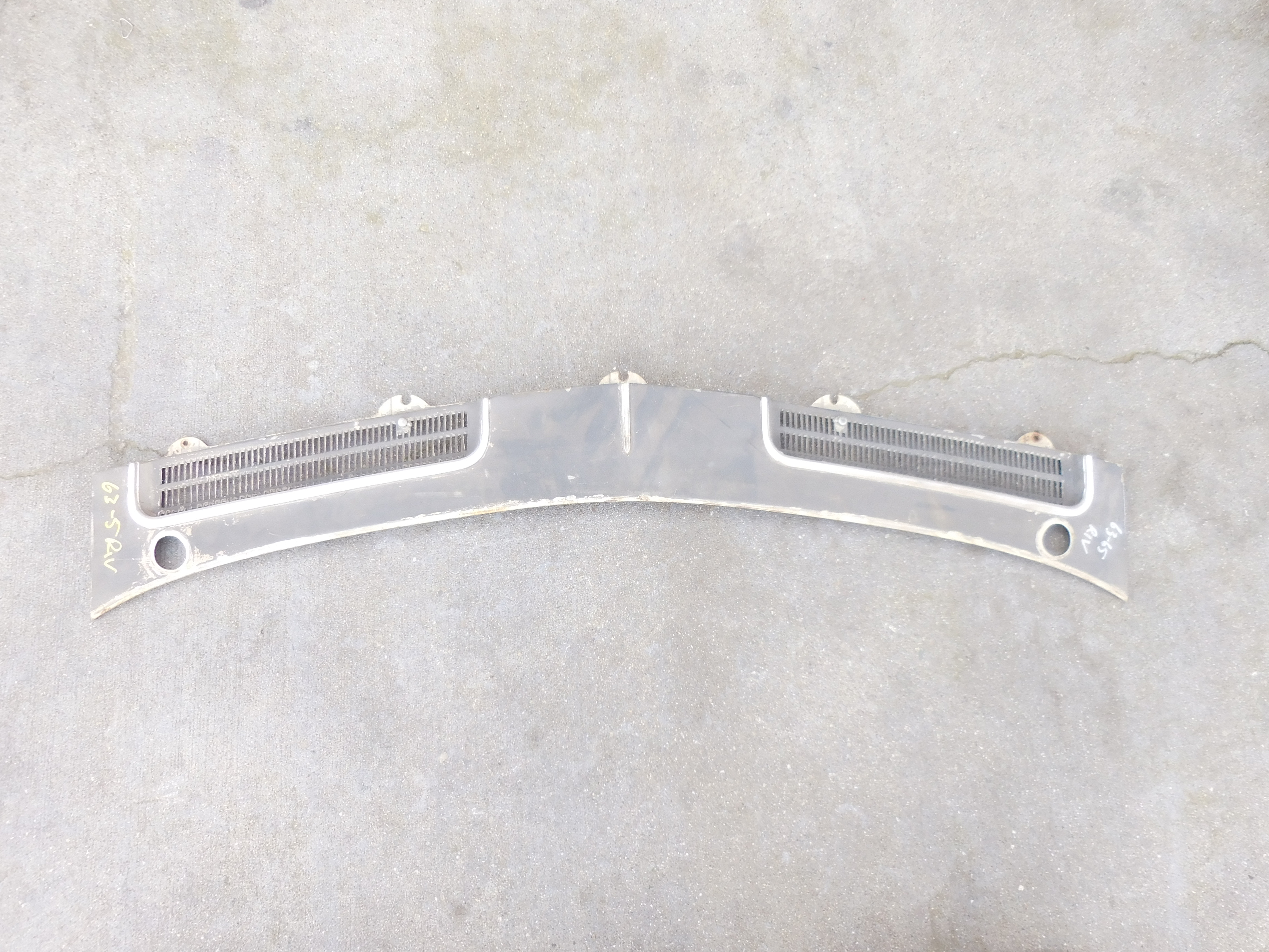 1963 1965 Buick Riviera Cowl Cover Panel Gm Sports