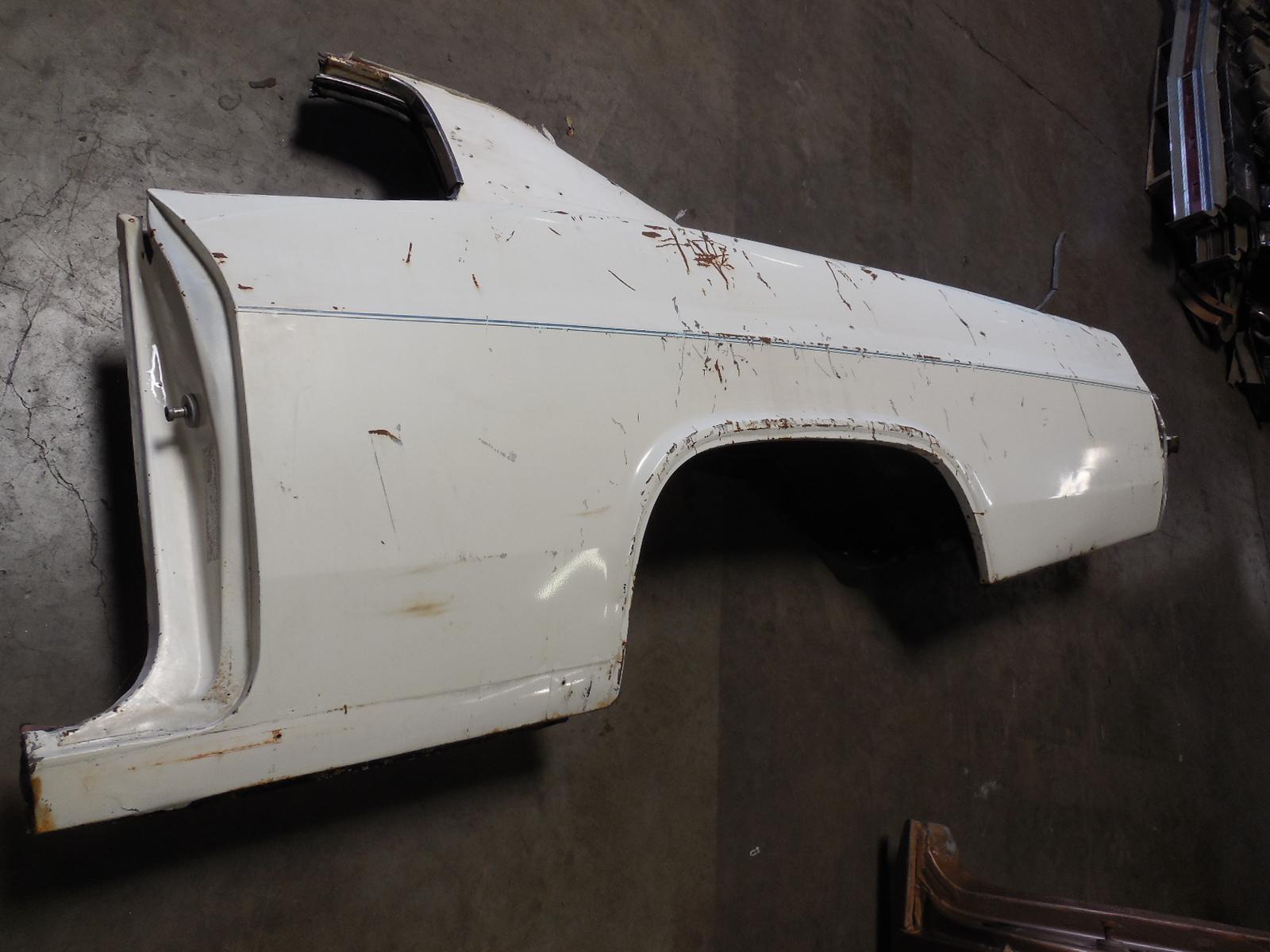 1966 Chevrolet Caprice Quarter Panel Gm Sports