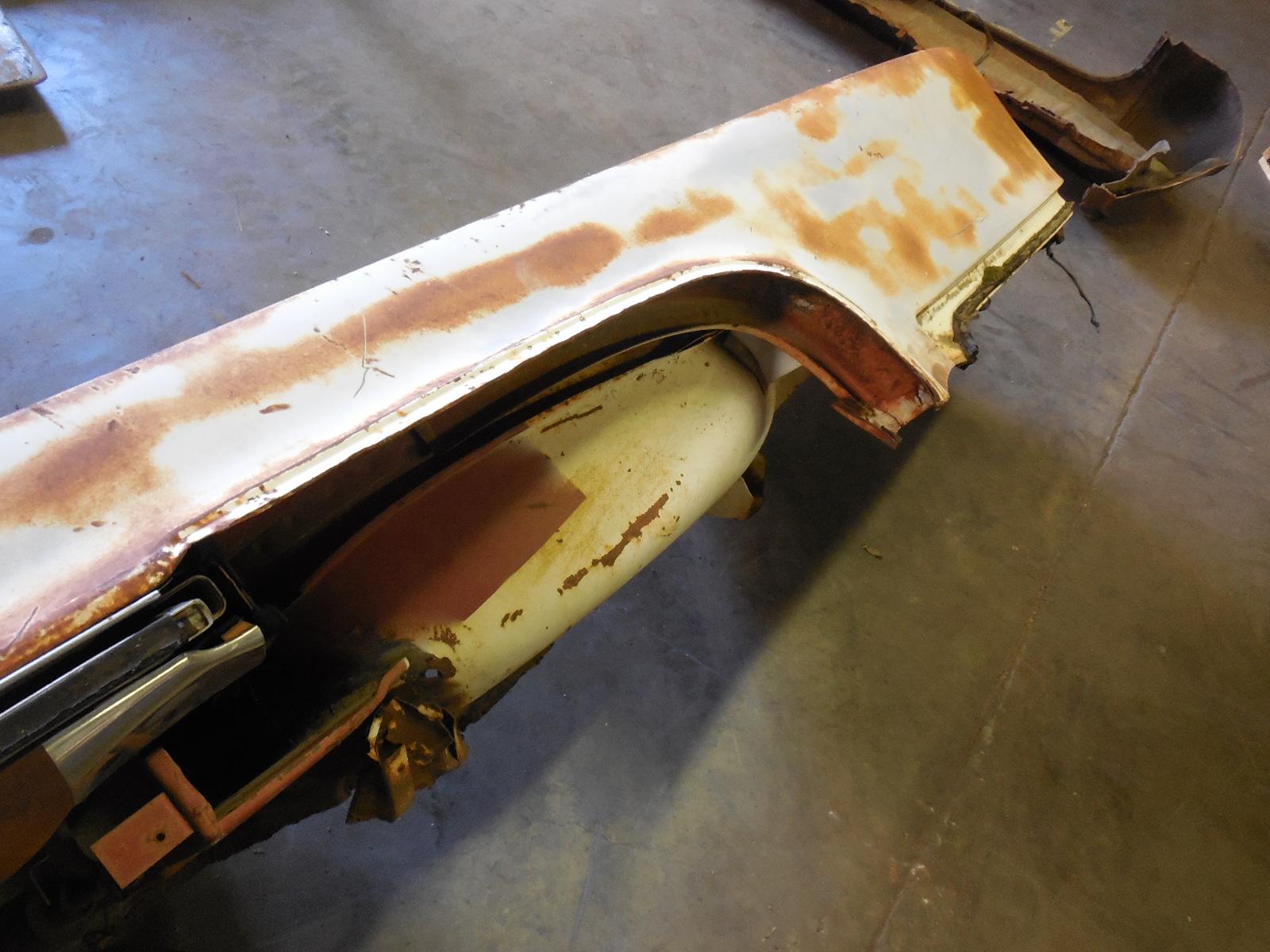 1962 Pontiac Tempest 1962 Pontiac Tempest Lemans Convertible Quarter Panel Gm Sports