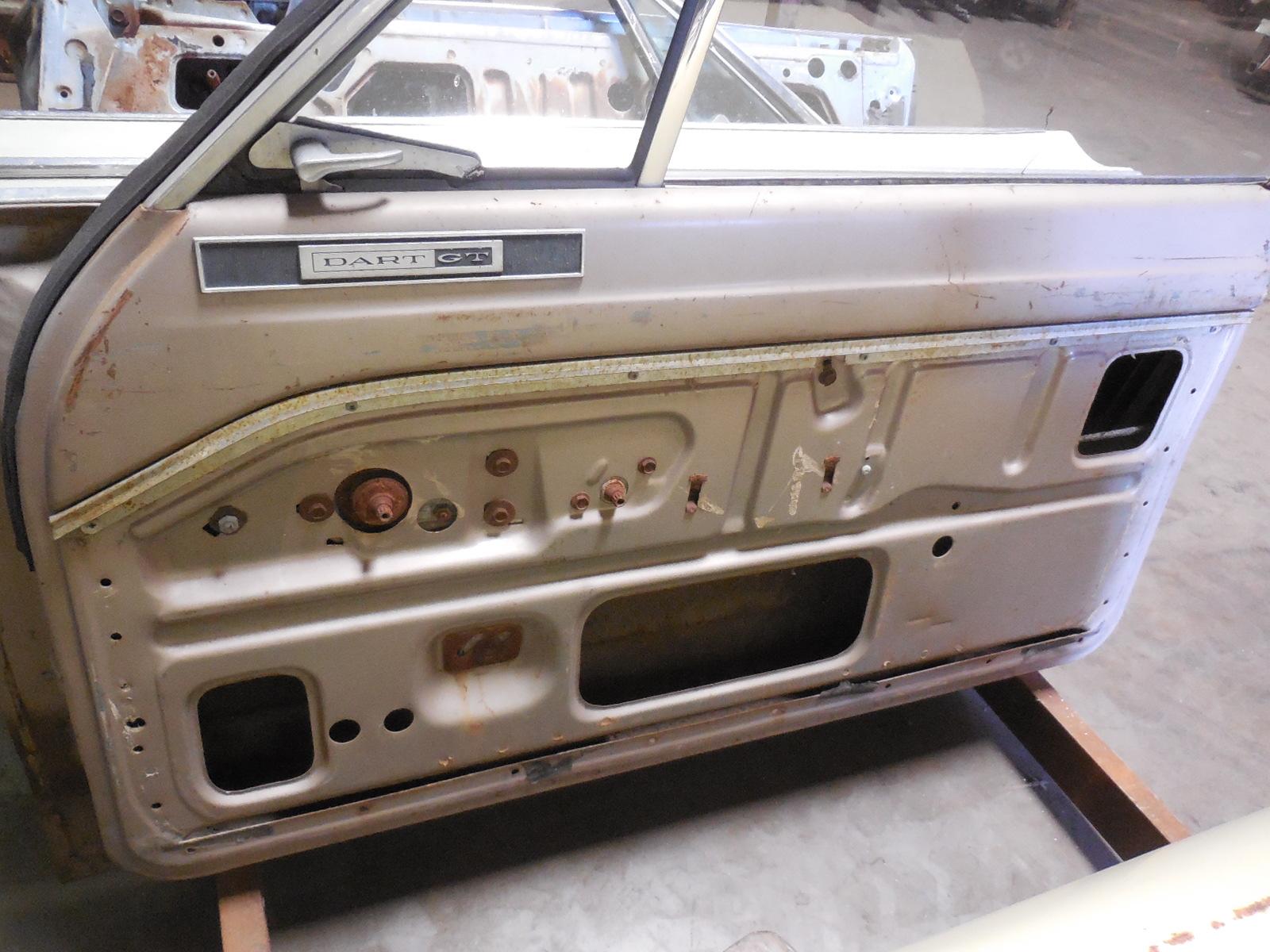 1965 Dodge Dart Door