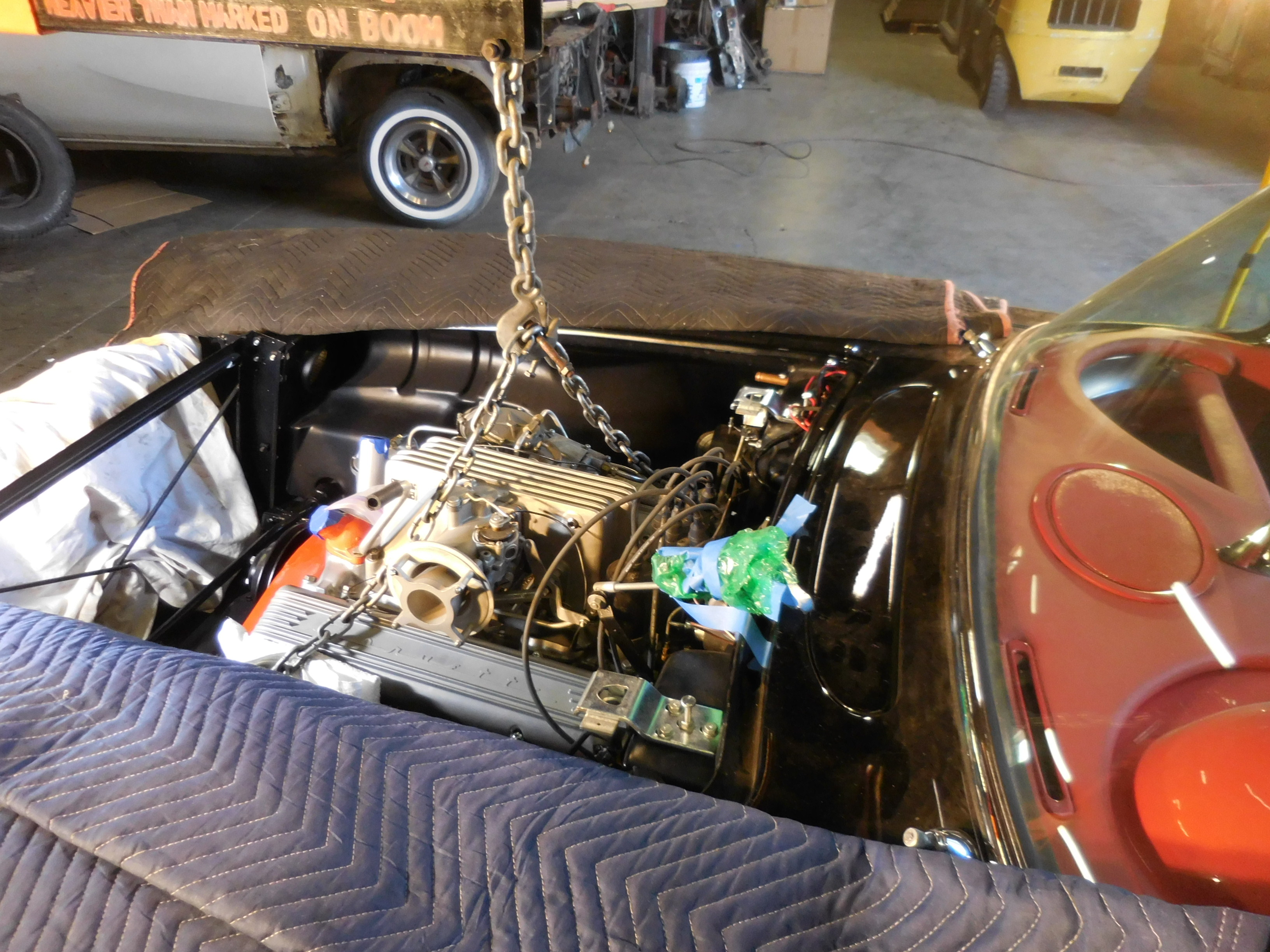 1958, Chevrolet, Corvette, 283, Fuel Injection, 4 Speed, Restoration,