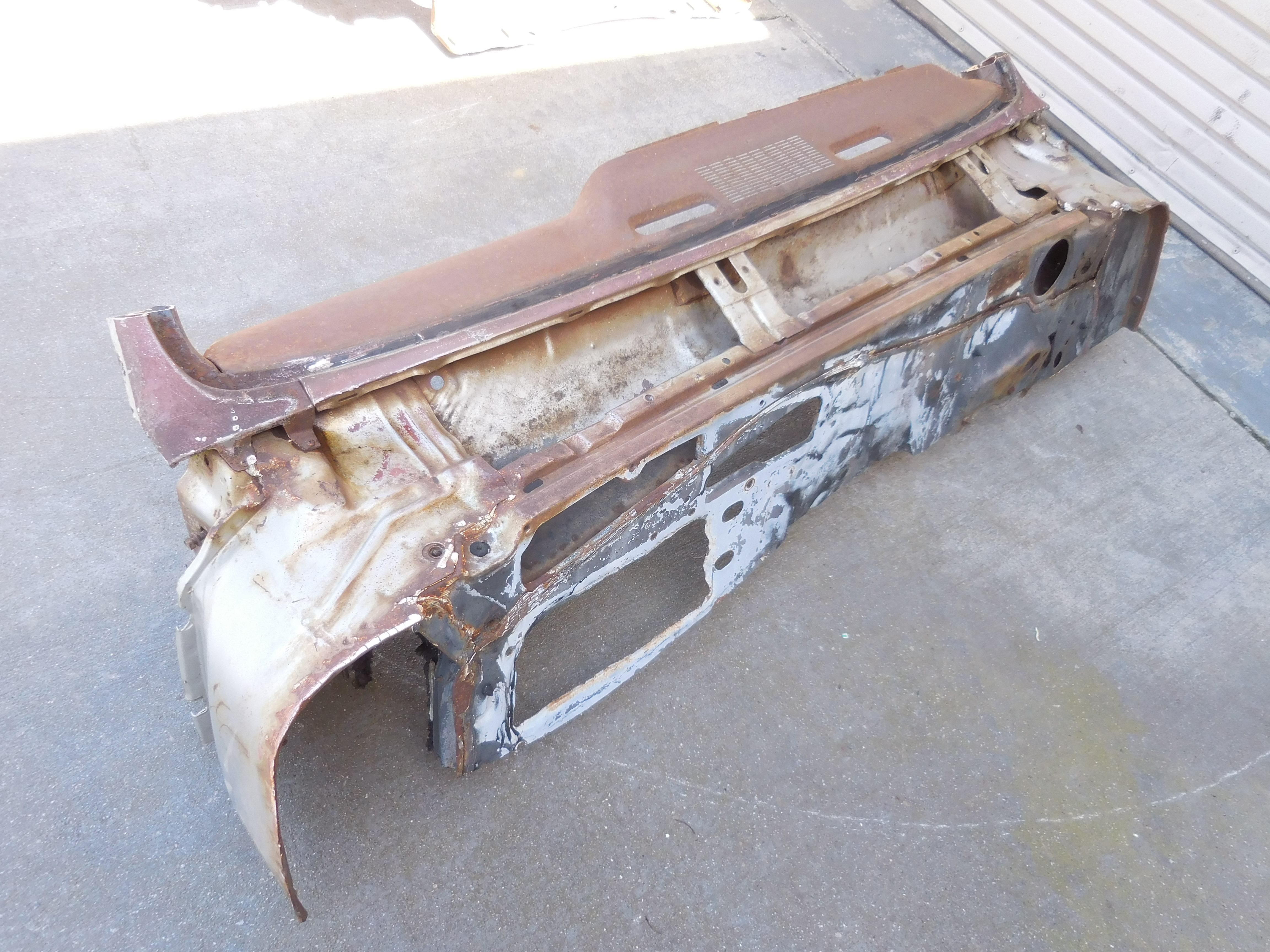 1967, Pontiac, GTO, Lemans, A/C, Cowl, Section,