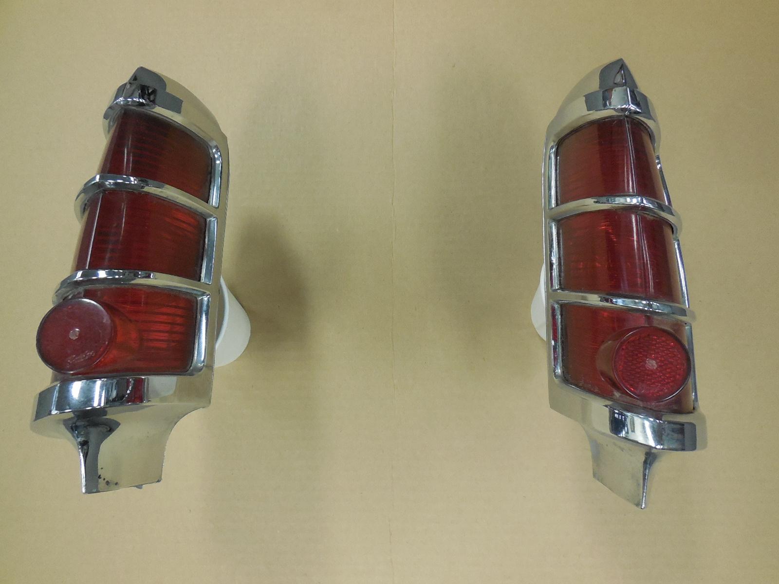 1963 Pontiac Catalina Bonneville Left Right Tail Light ...