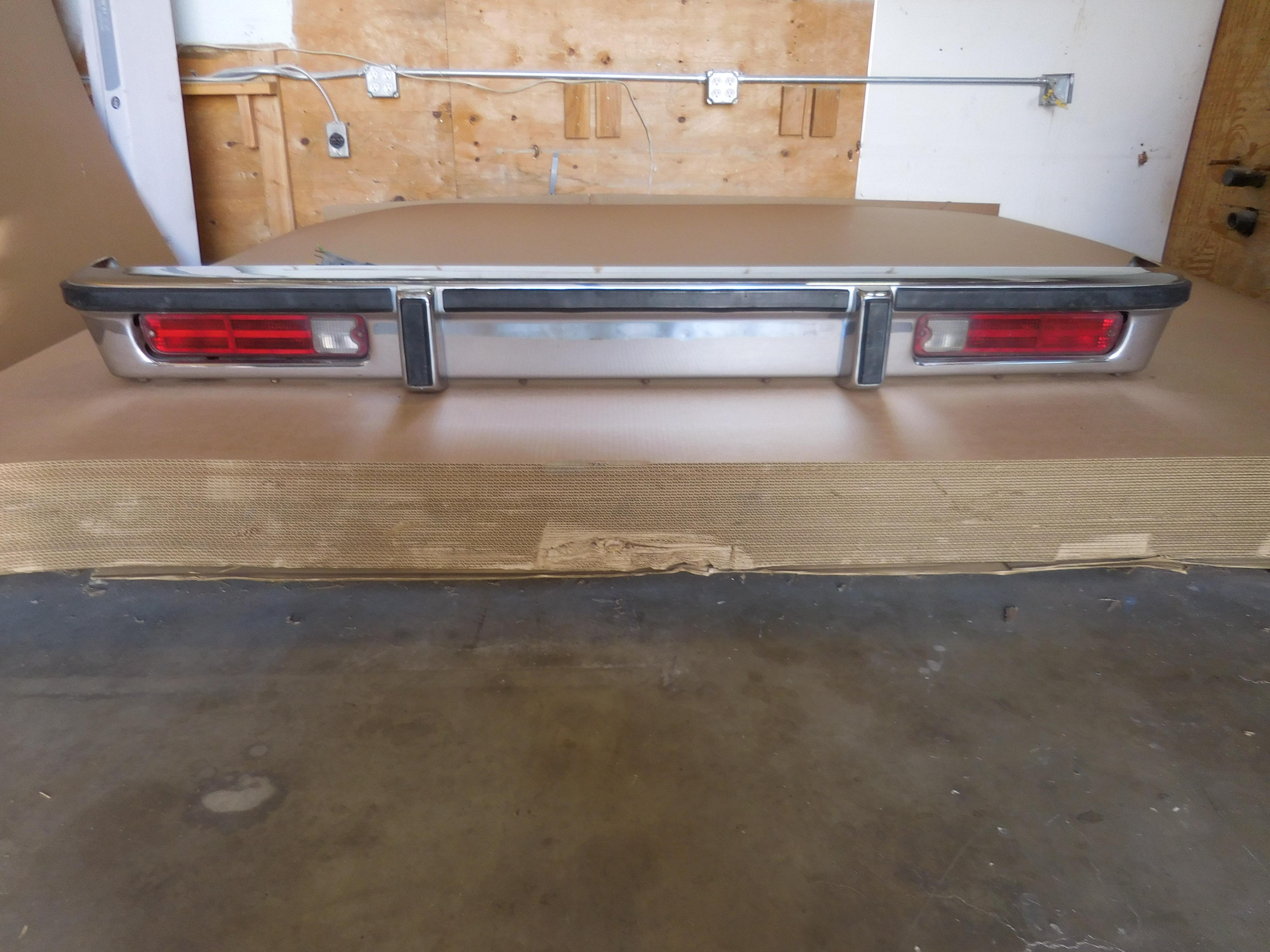 1987 Buick Regal For Sale >> 1978-1988 Chevrolet El Camino Caballero Rear Bumper | GM ...