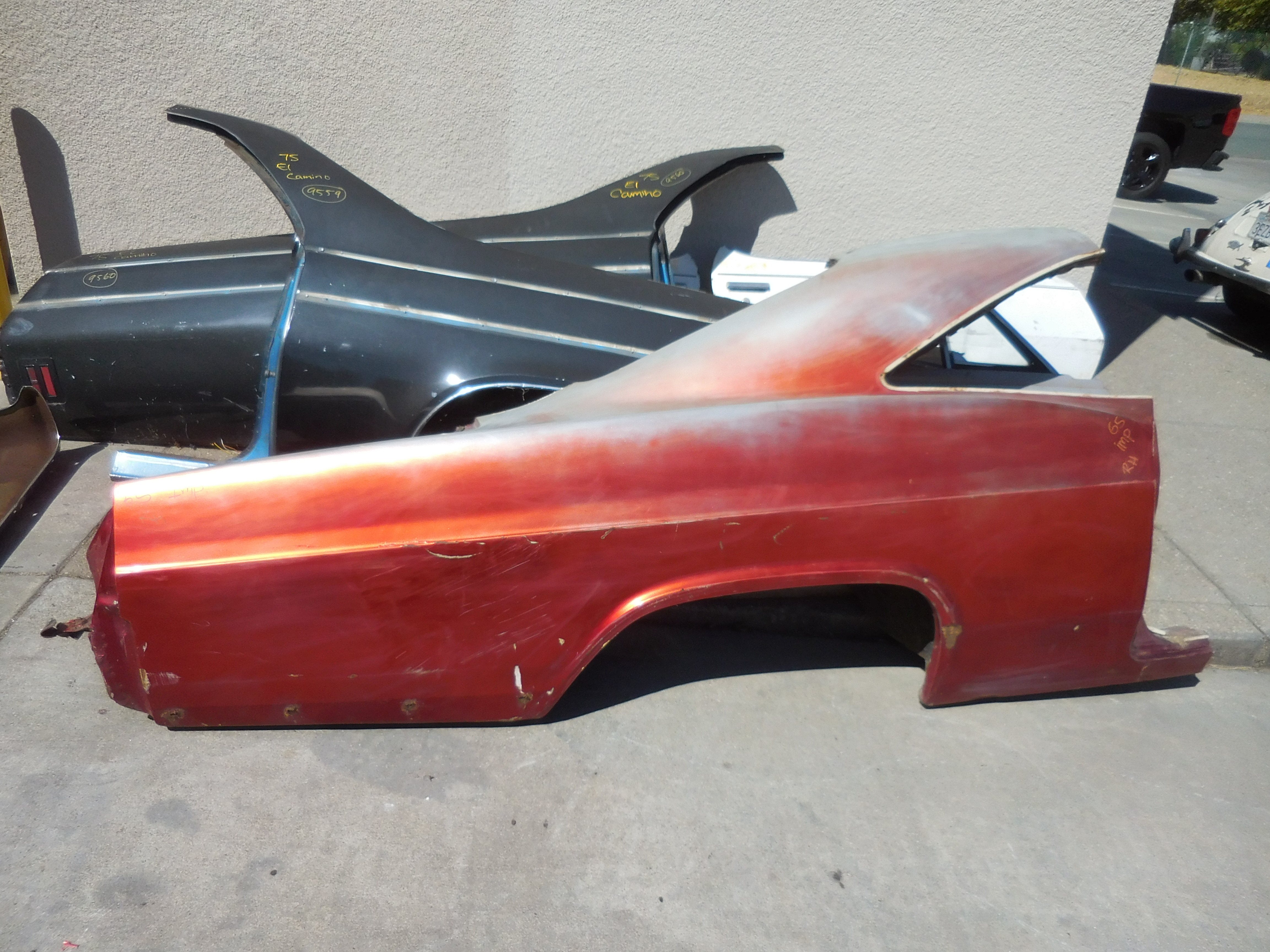 1965, Chevrolet, Impala, Right, Quarter, Panel,