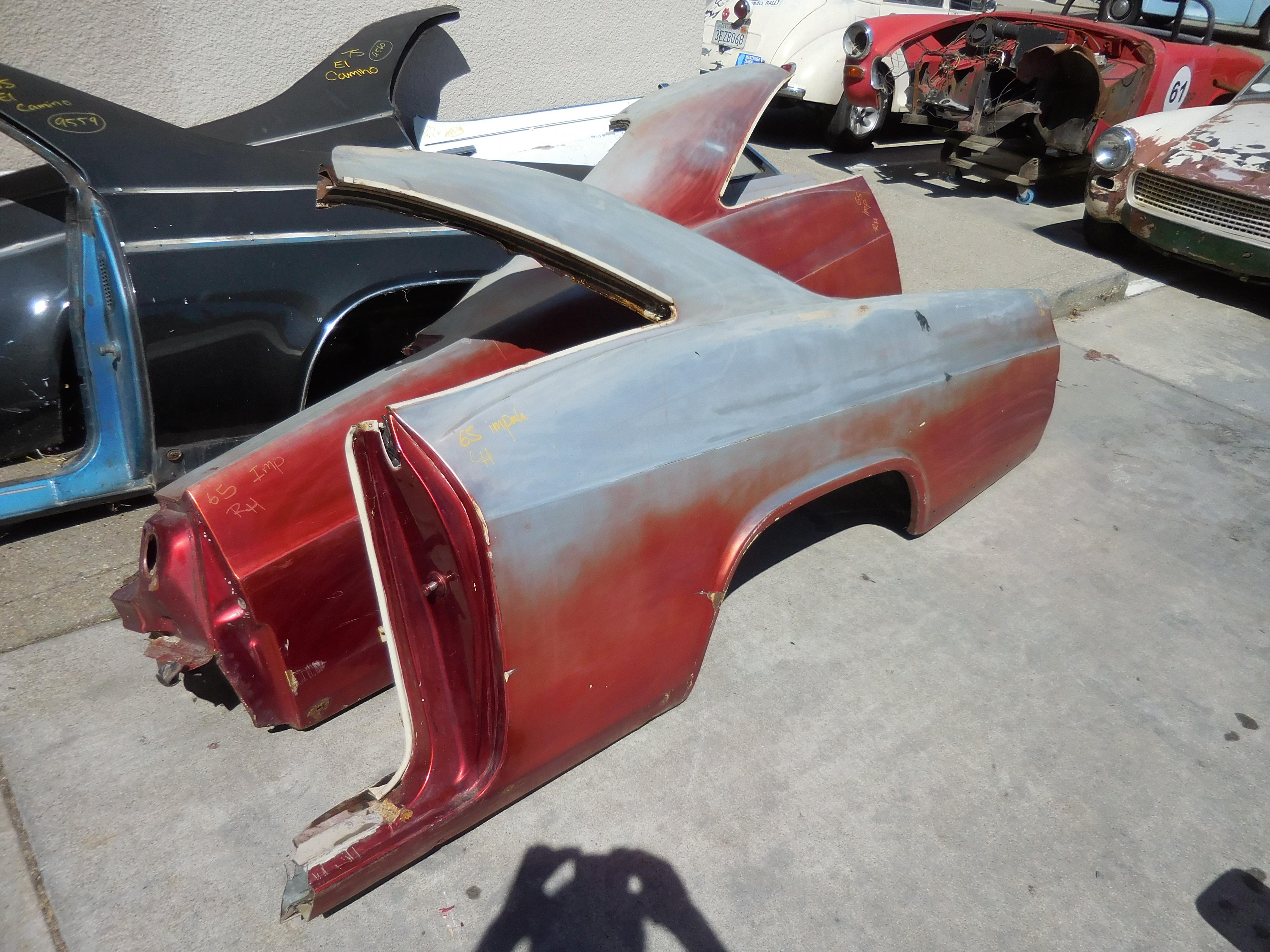 1965, Chevrolet, Impala, Left, Quarter, Panel,