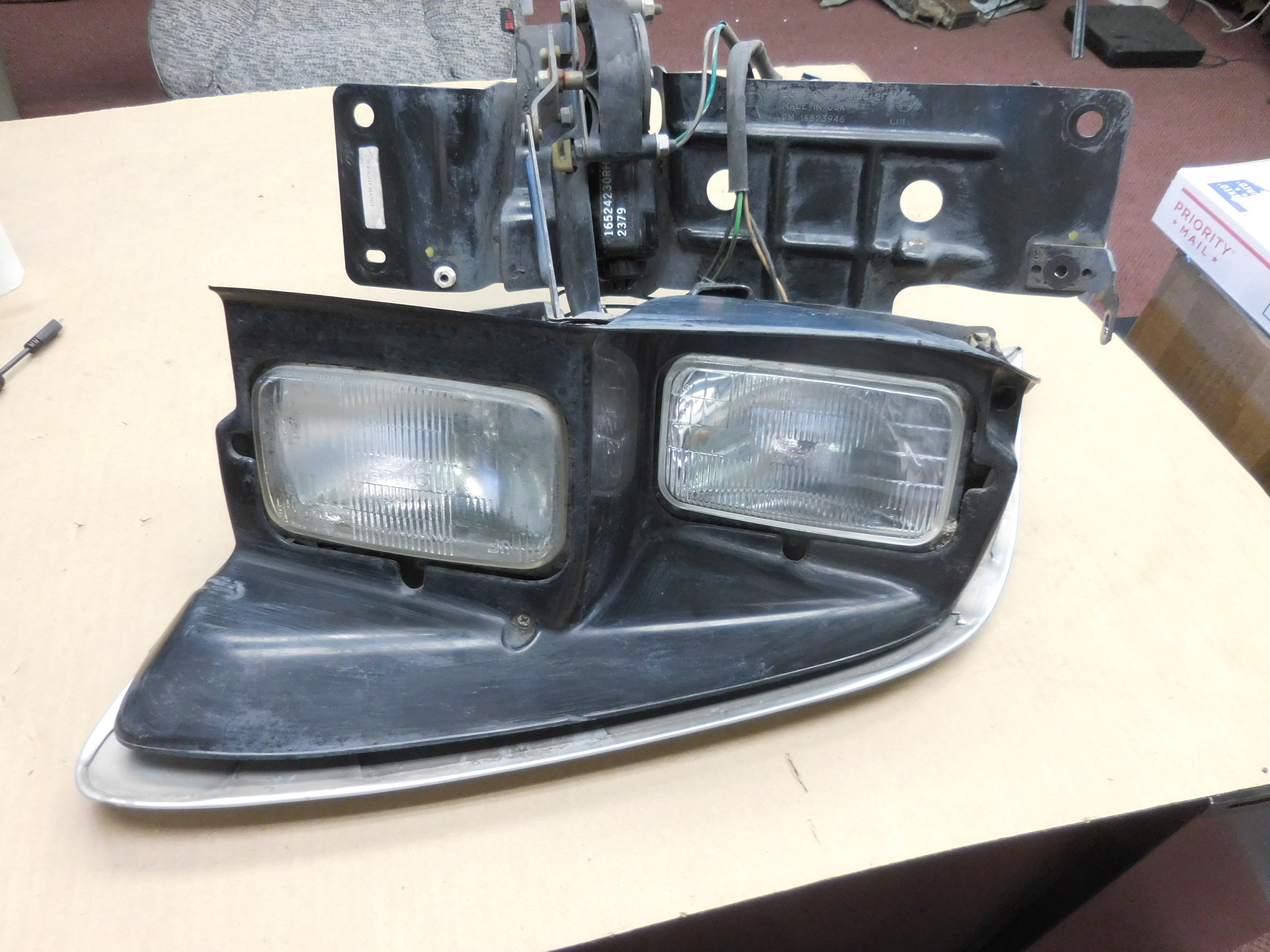 1998,1999,2000,2001,2002, Pontiac, Trans Am, Firebird, Right, Headlight, Assembly,