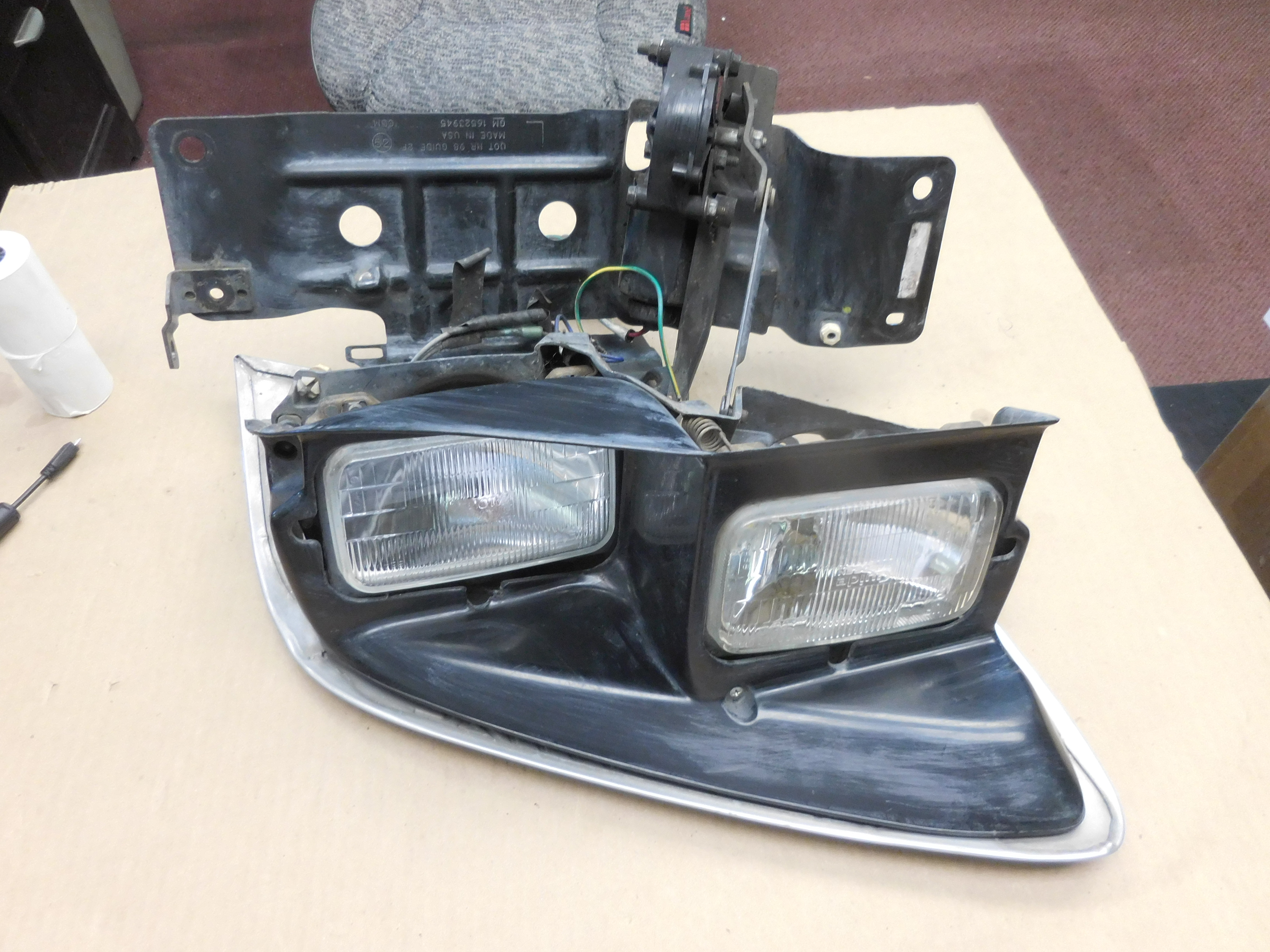 1998,1999,2000,2001,2002, Pontiac, Trans Am, Firebird, Left, Headlight, Assembly,