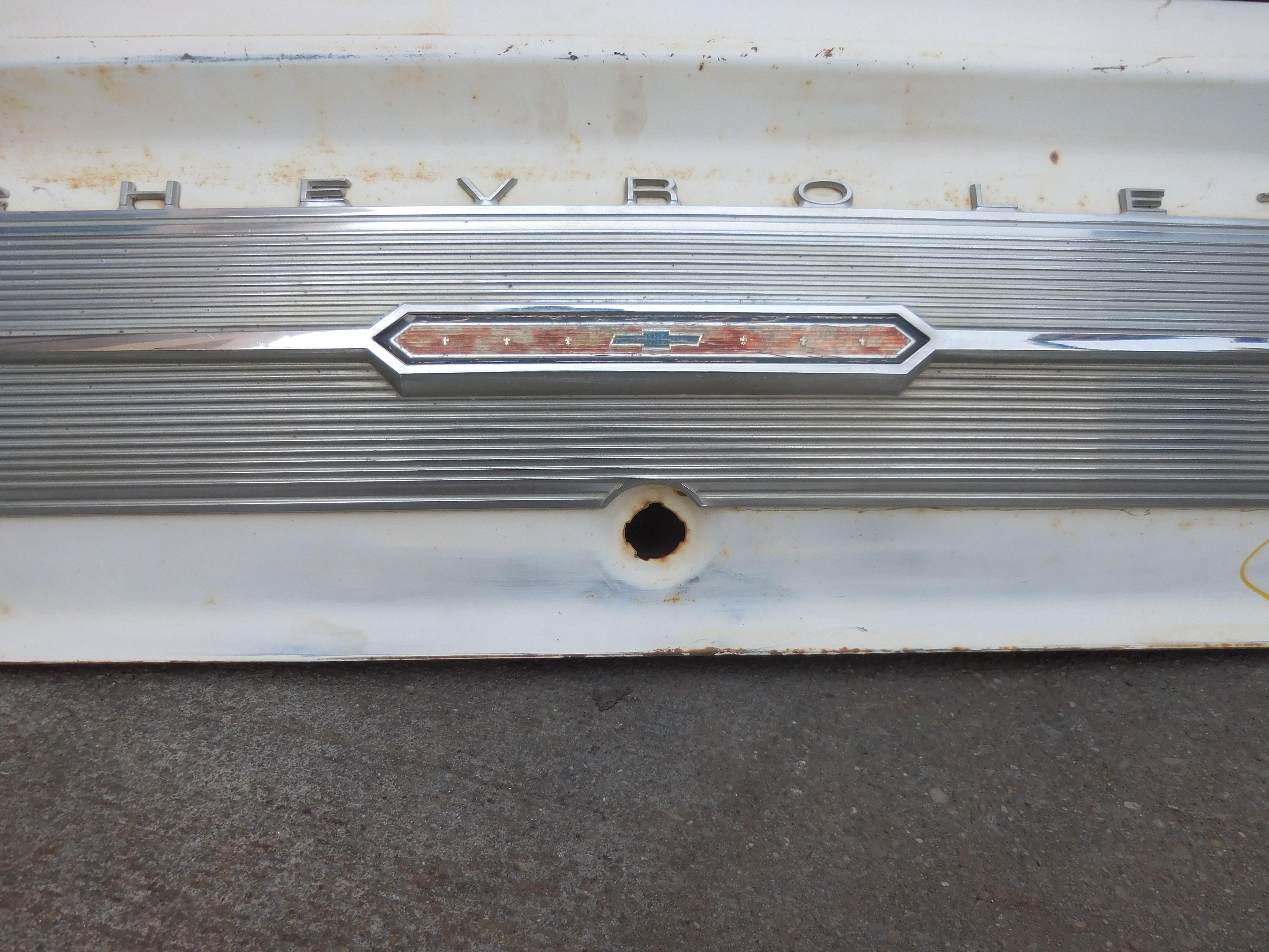 1965, Chevrolet, Nova, Deck, Lid,