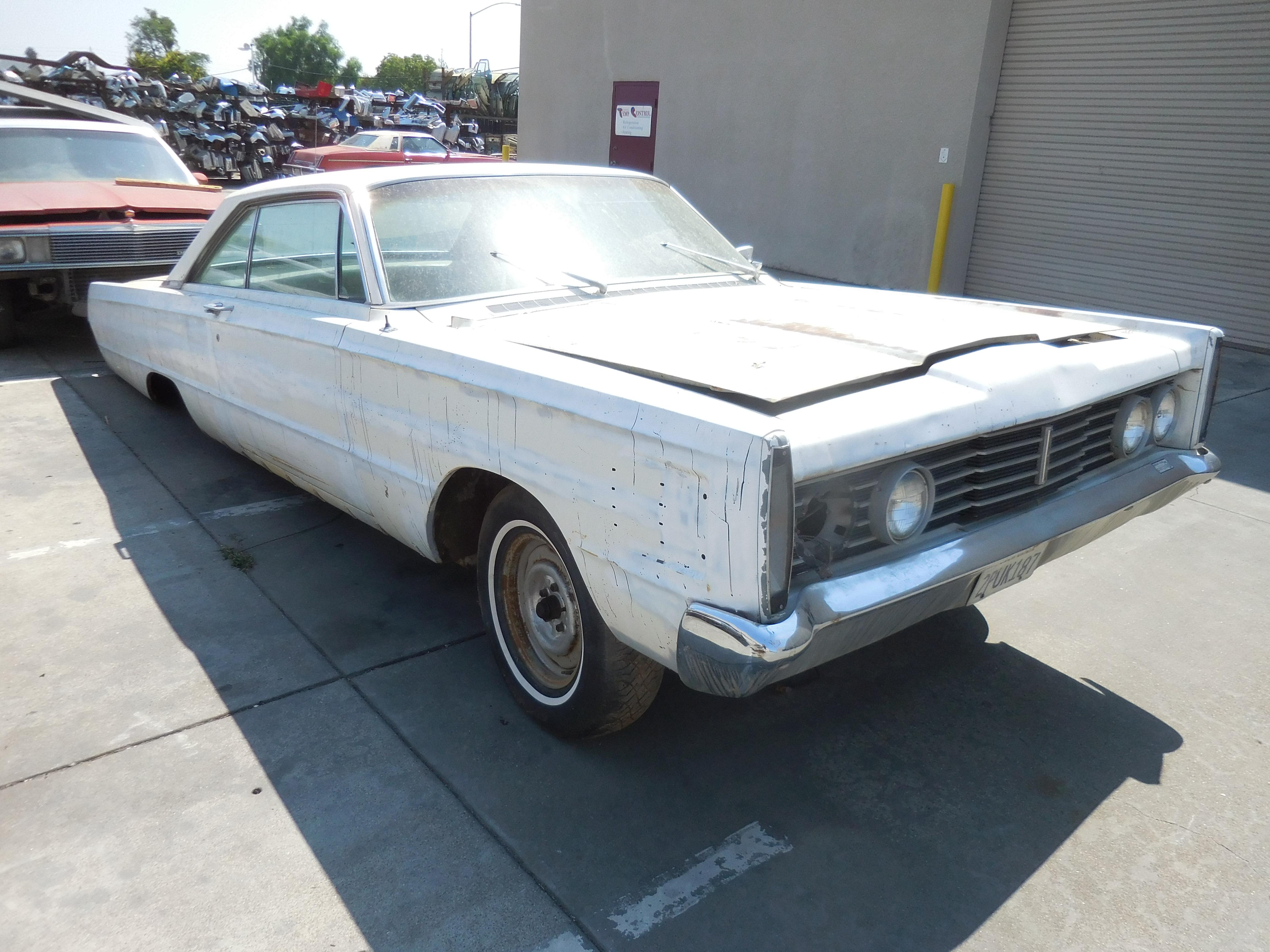 1965, Mercury, Marauder,fender, bumper,door,deck, lid,trunk,floor,suspension,seat,