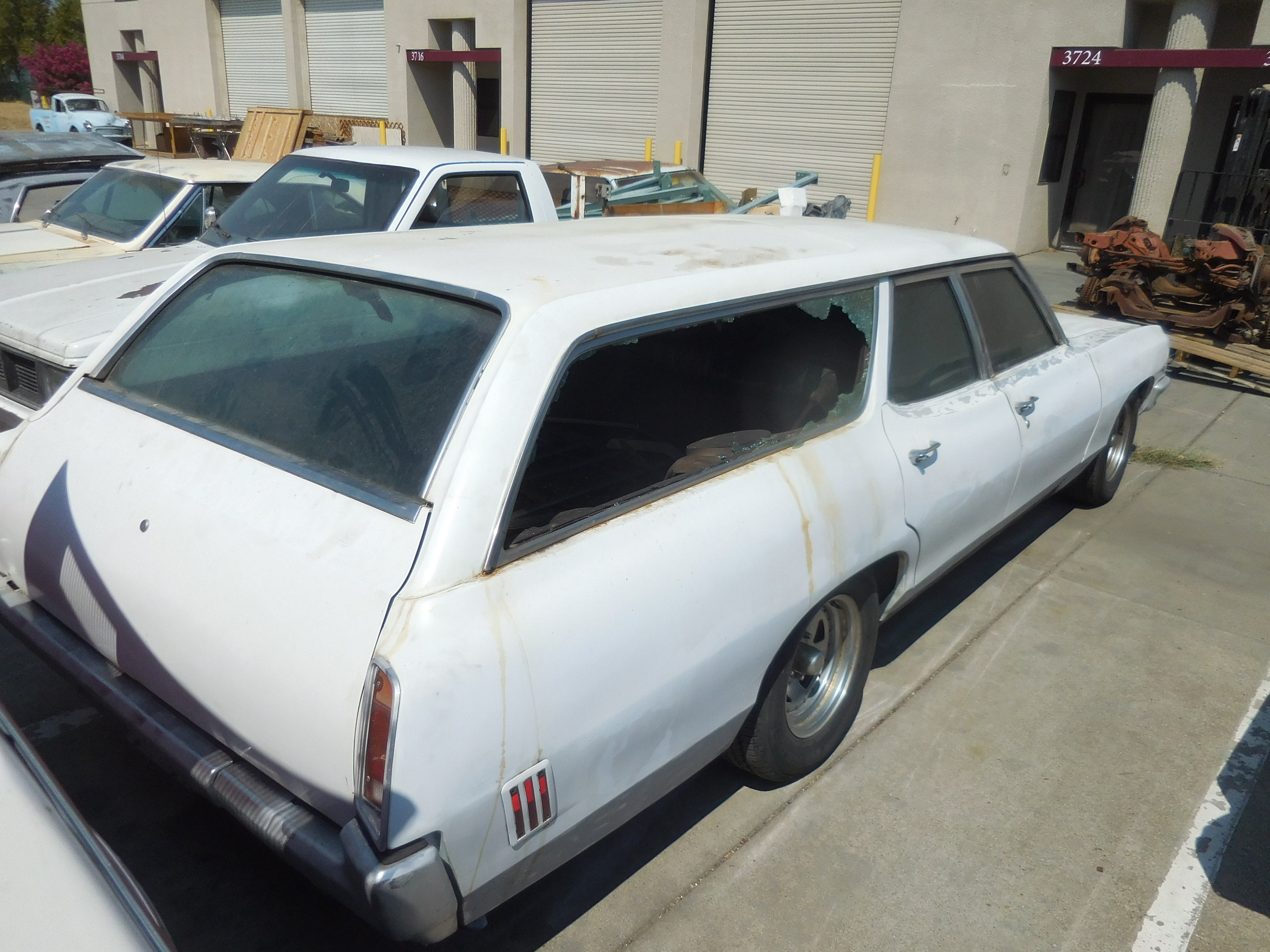 1970, Pontiac, Bonneville, Station, Wagon, with, Third, Seat,