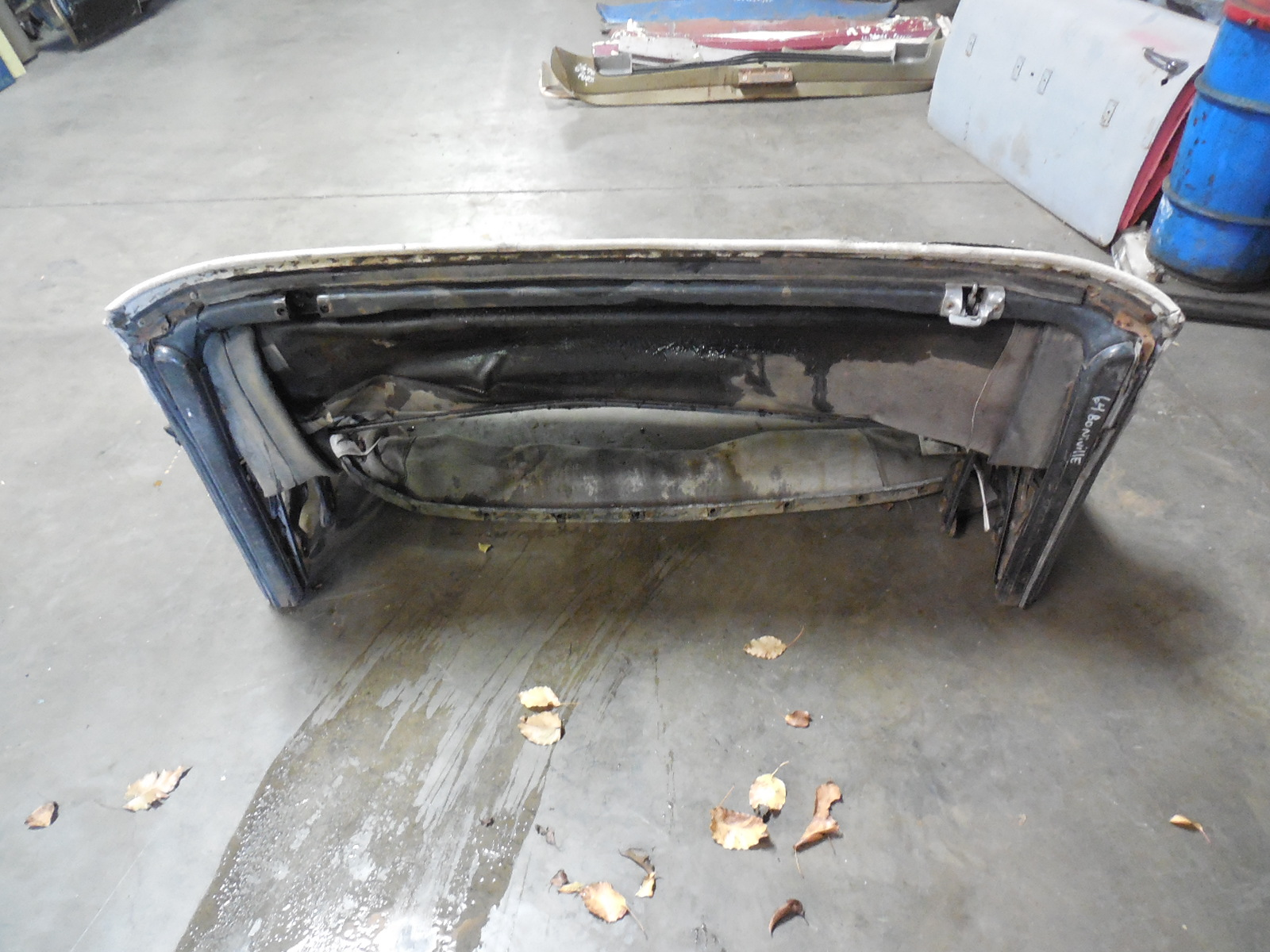 1963 1964 Gm B C Body Convertible Top Frame Embly