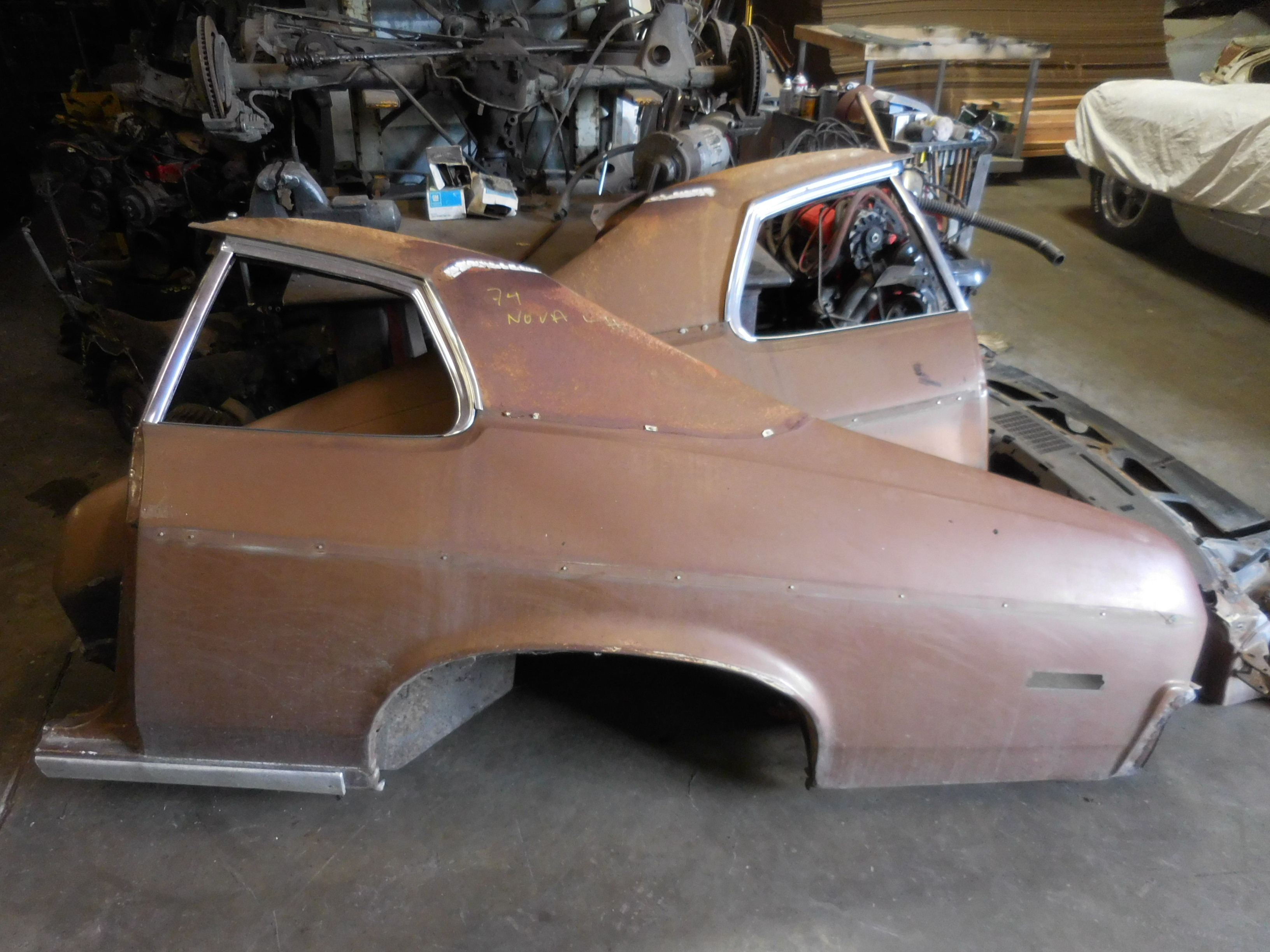 1973-1974 Chevrolet Nova Left Right Quarter Panels | GM Sports