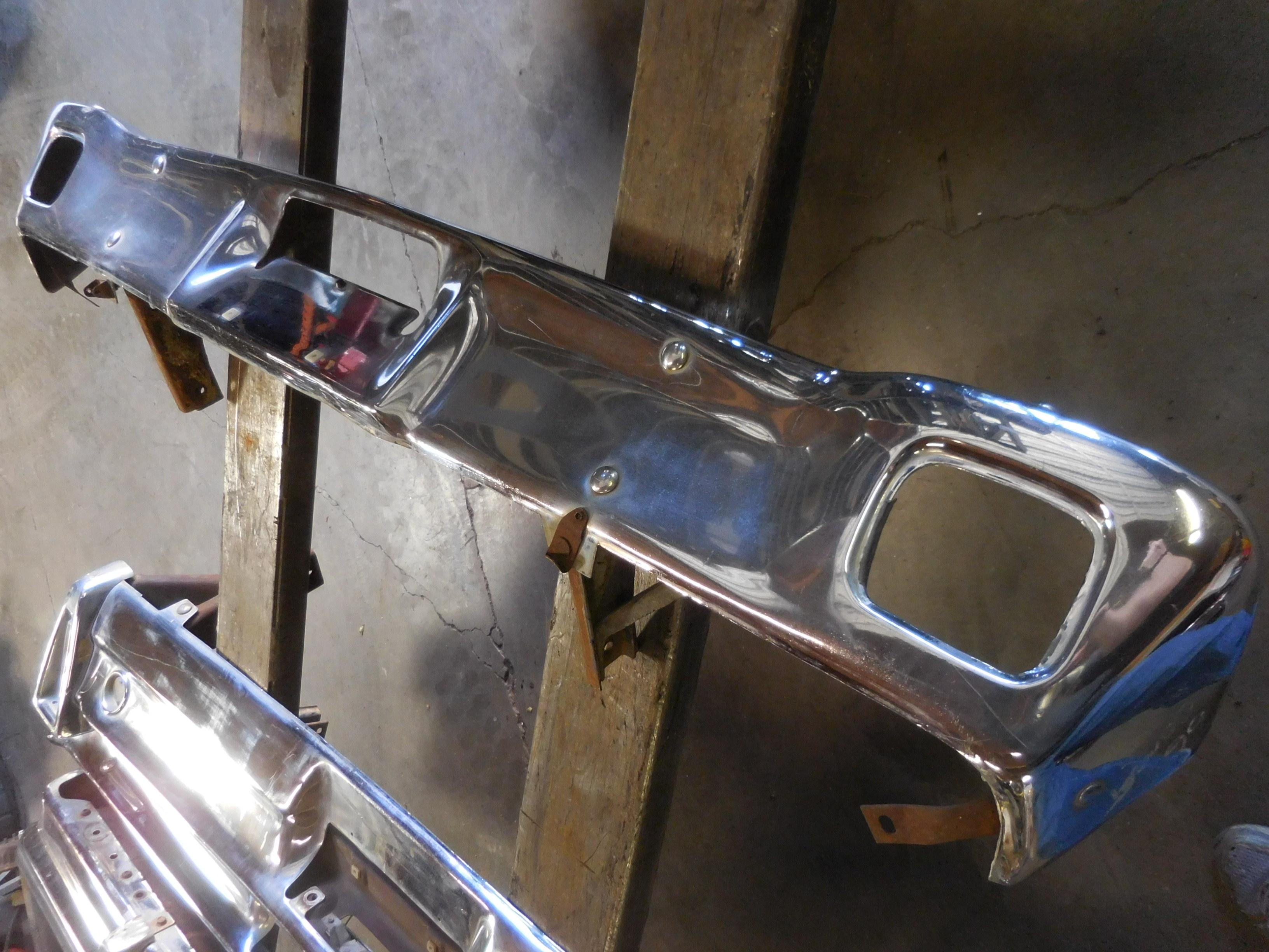 1966 Mercury Front Bumper