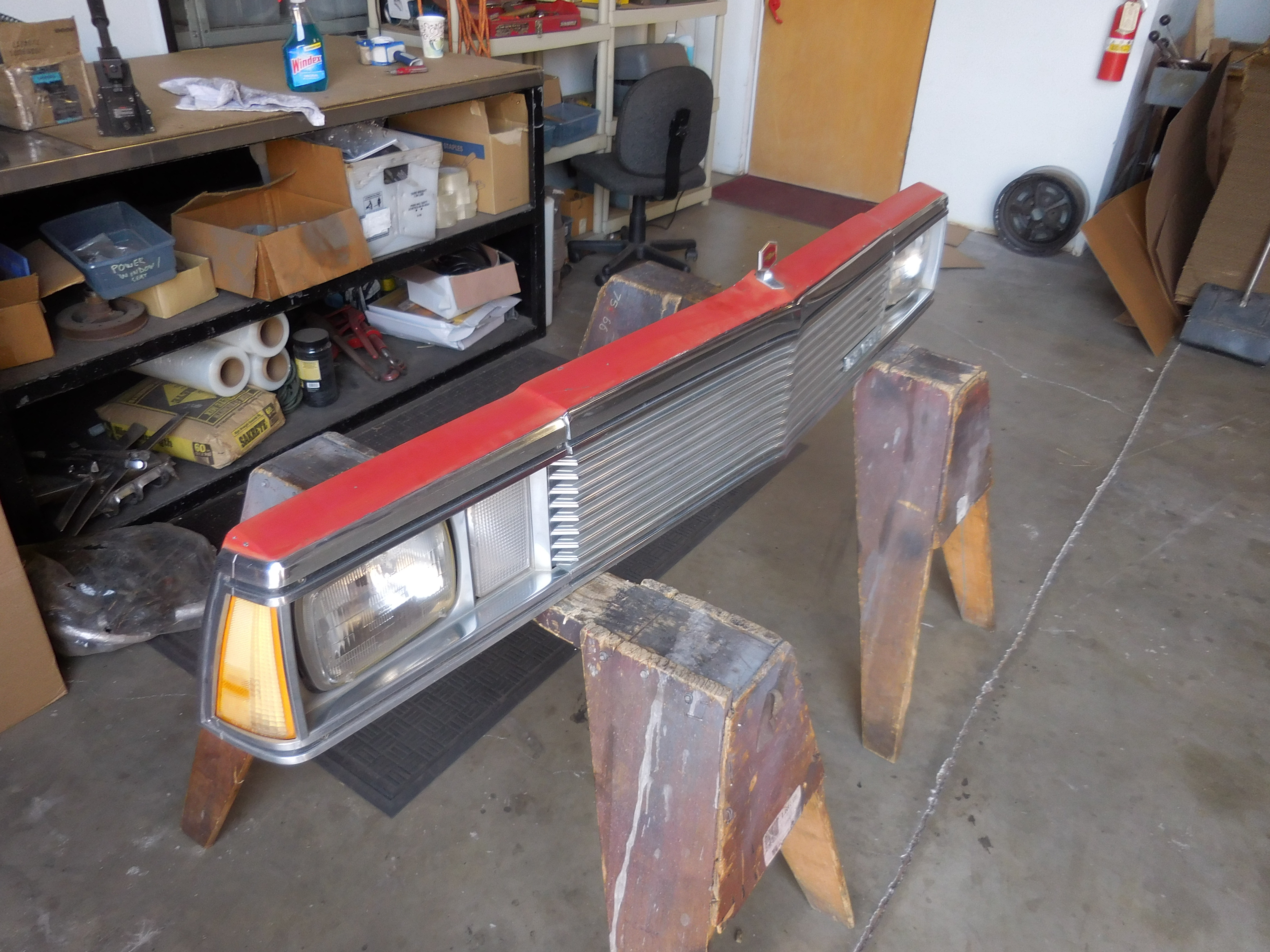 1980 1981 Chevrolet El Camino Complete Header Panel