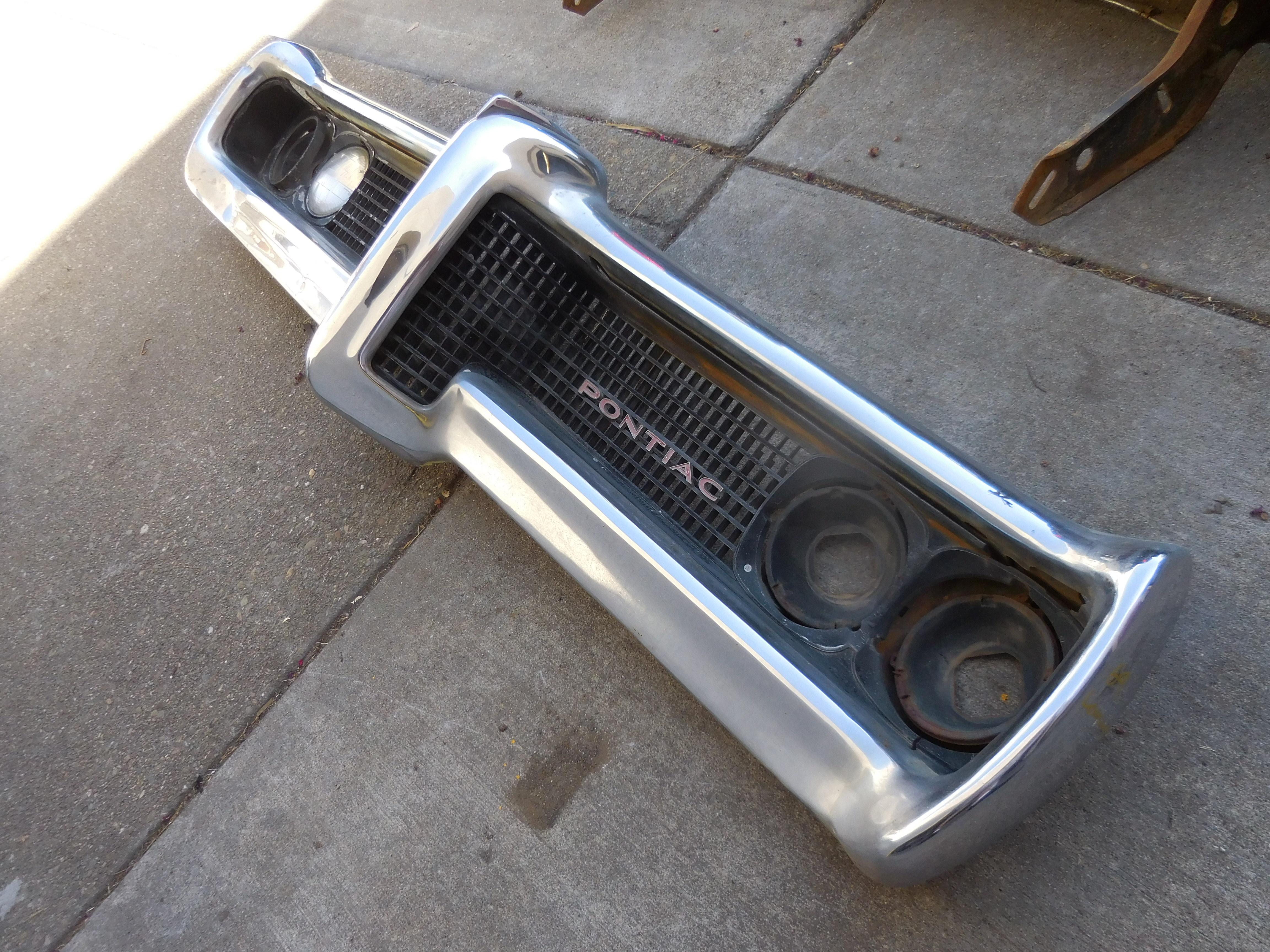 1969, Pontiac, Lemans, Front, Bumper,