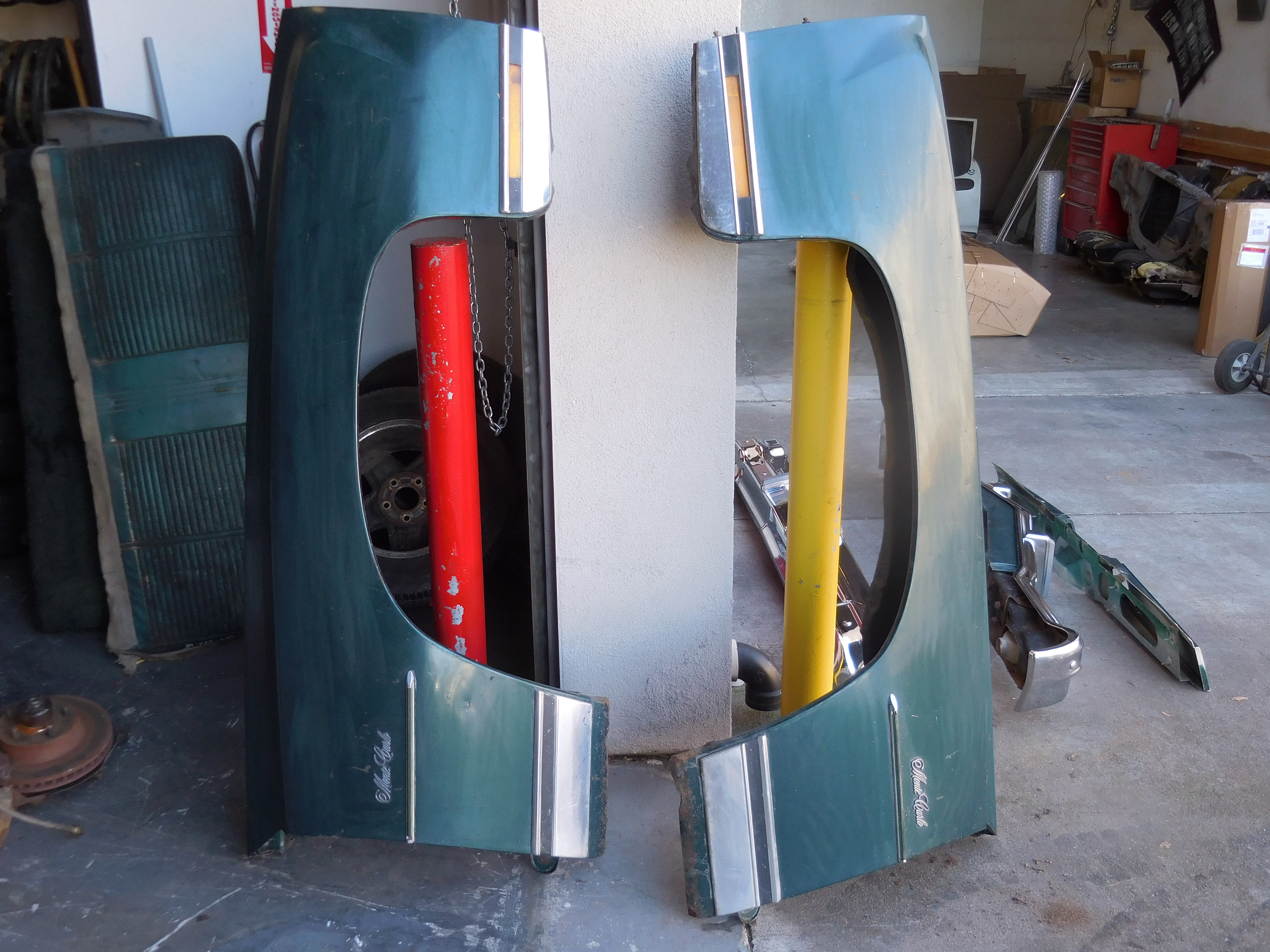 1973,1974,1975,1976,1977,1977, Chevrolet, Monte, Carlo, Left, and, fender,Right, Fenders,