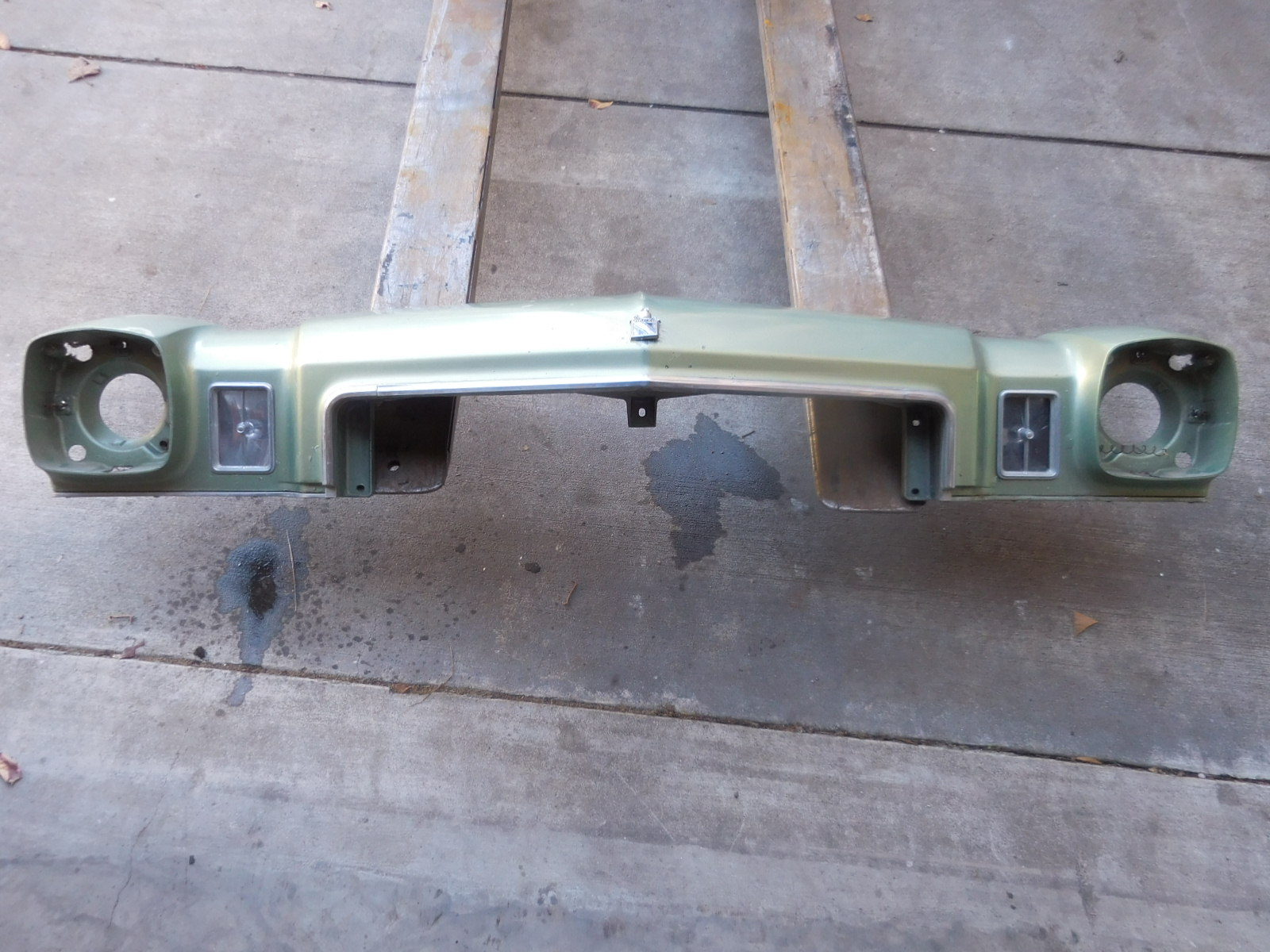 1973, Buick, Regal, Header, Panel,
