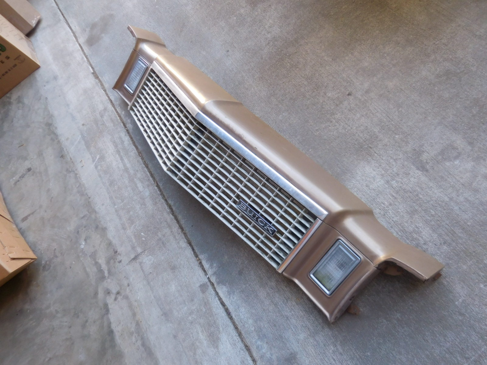 1976, 1977, Regal, Century, Header, Panel, 4, Door,