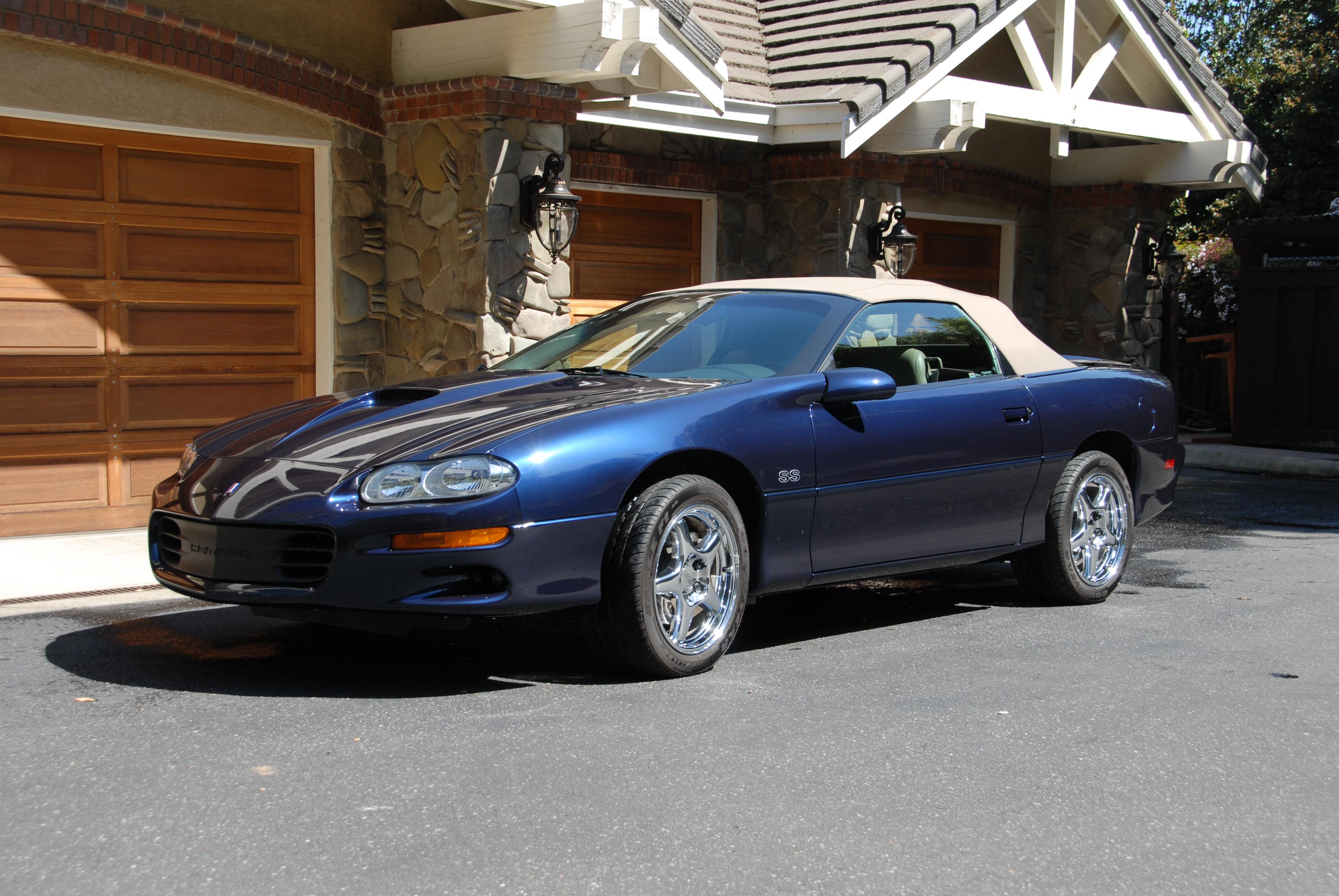1999 Corvette For Sale >> 1999 Camaro SS Convertible | GM Sports