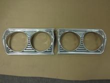 1964 Plymouth Fury Headlight Bezels