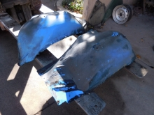 1966, Chevrolet, Chevelle, Left, Right, Inner, Fender,