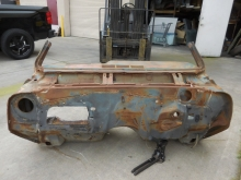 1965, Chevrolet, Chevelle, Full, Firewall, Cowl, Section,