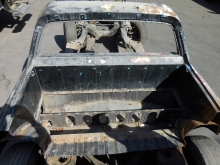 1964-1967 Chevrolet El Camino Rear Deck Shelf Section
