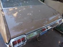 1970-1972 Oldsmobile Cutlass Deck Lid