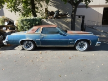 1976, Pontiac, Grand, prix, 400, TH400, cars for sale,