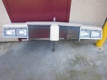 1980, Oldsmobile, Cutlass, Supreme, Header, Panel,headlight, bezel,grill, grille,