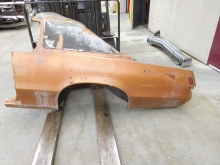 1971 1972 Pontiac Grand Prix Right Quarter Panel