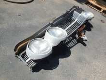 1967 Buick Riviera Grill and Headlights