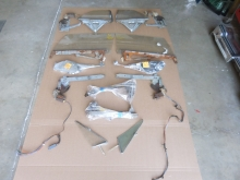 1966, 1965, Buick, Oldsmobile, Cadillac, Pontiac, 88, Starfire, elctra, Chevrolet, Impala, Convertible, Front, Door, Glass, Rear, quarter, Regulators, Guides, Tracks, Stops, and, Hardware