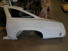 1974, Oldsmobile, Cutlass, S, Left, Quarter, Panel,